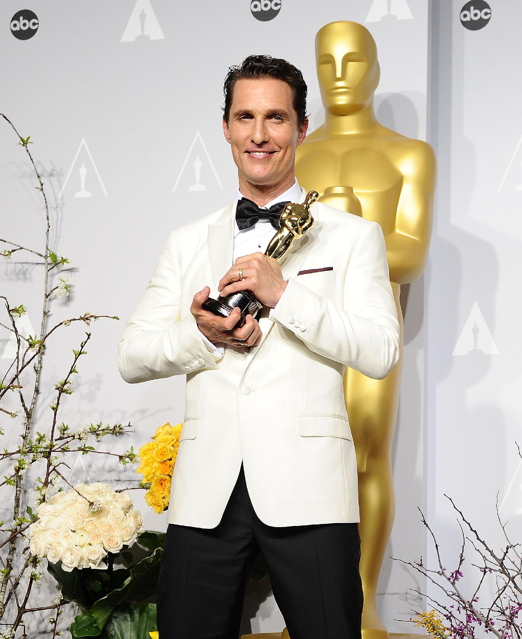 Matthew McConaughey on 'True Detective,' His Pal Woody, McConaissance