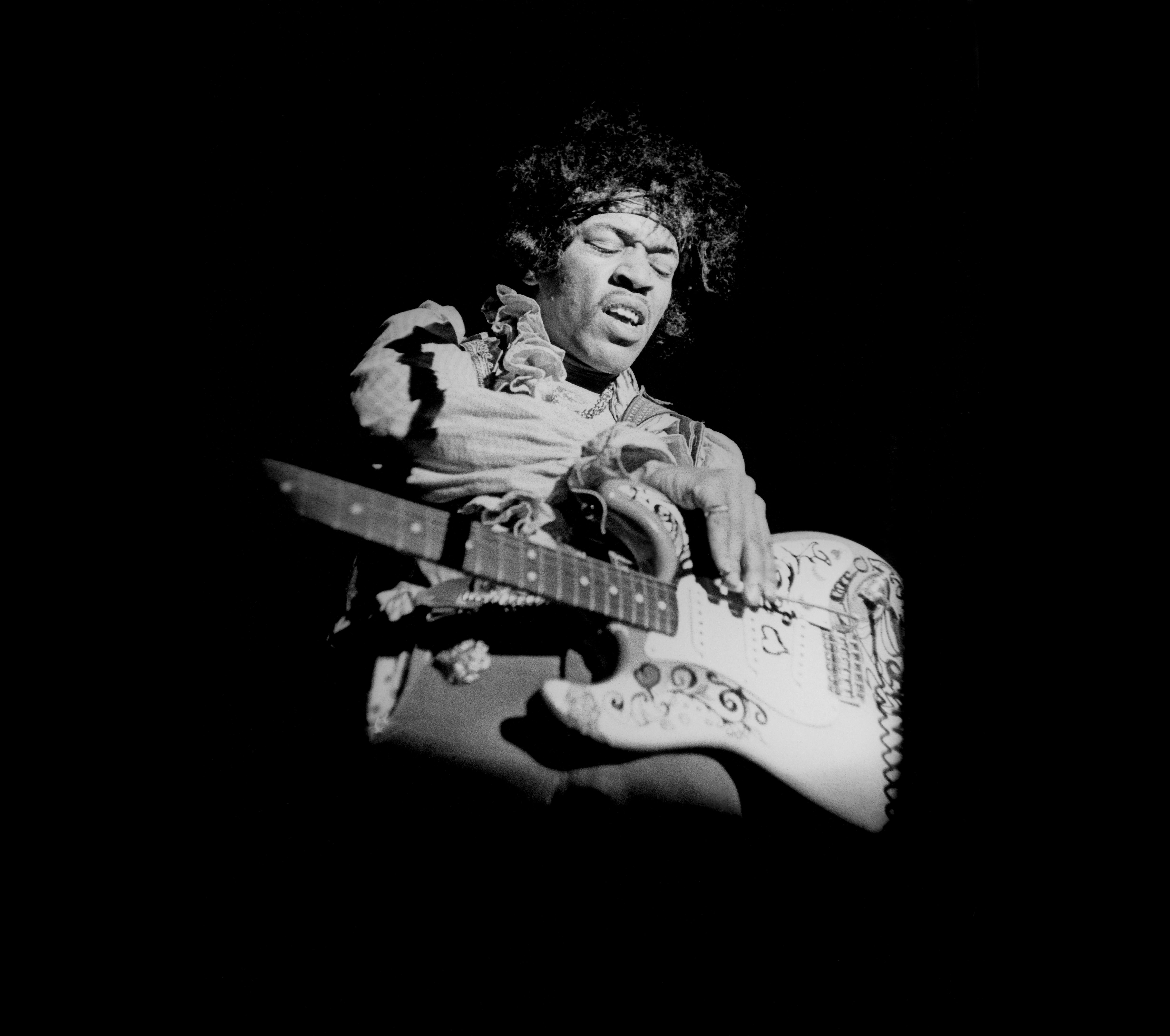 Jimi Hendrix's Early Curtis Knight Recordings Set for Official Release