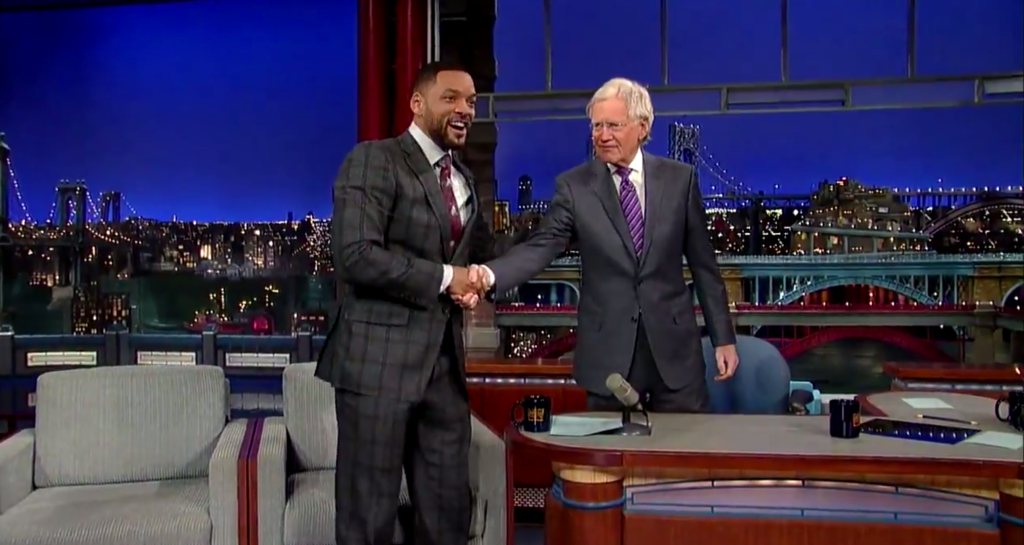 Will Smith Gets 'Jiggy Wit It' on 'Letterman'