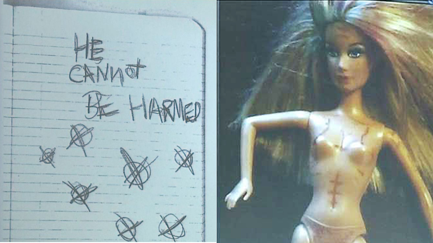 Images From Slender Man Stabbing Suspect's Notebook Surface