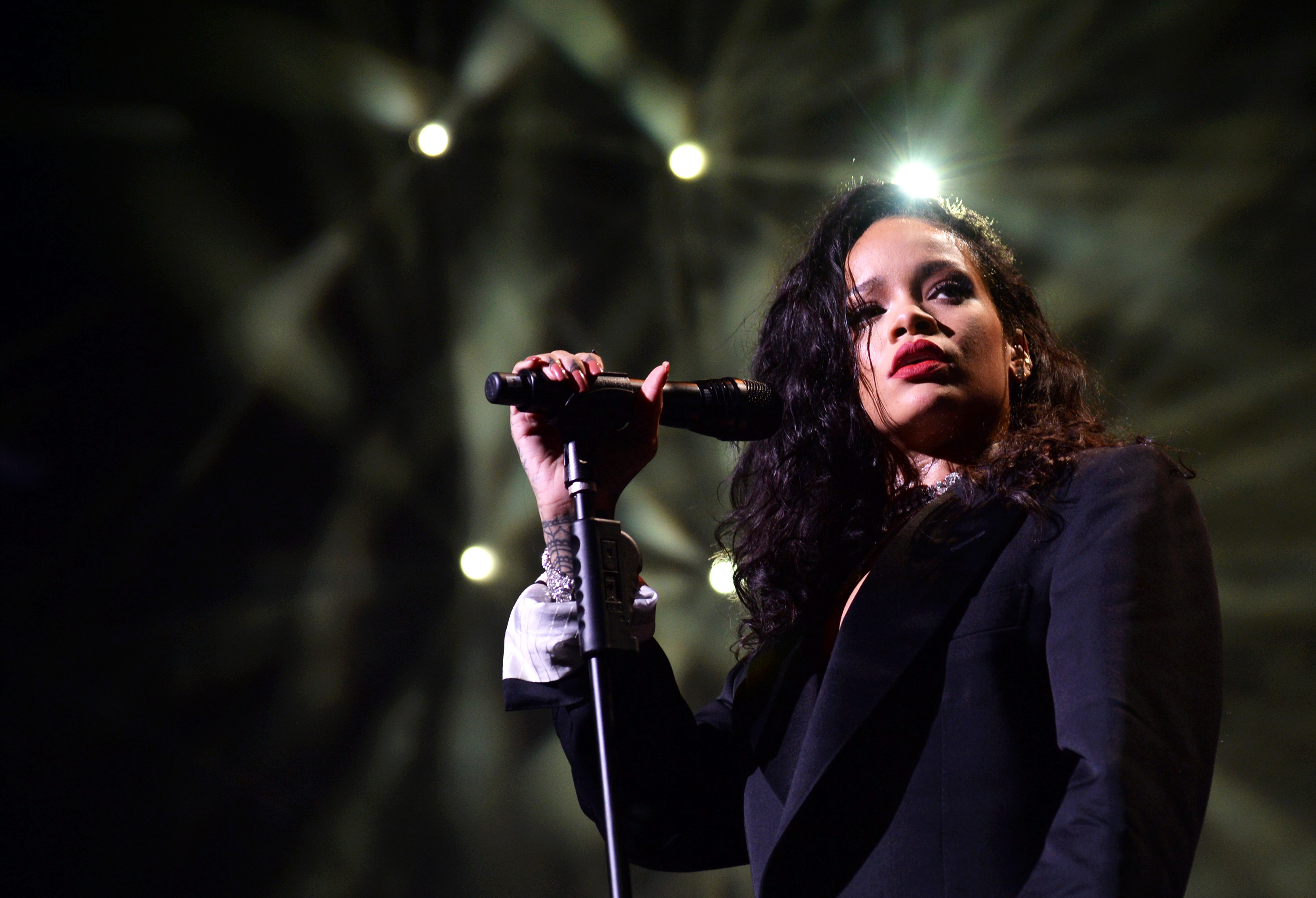 Rihanna Looks 'Towards the Sun' in New Song for Animated Film