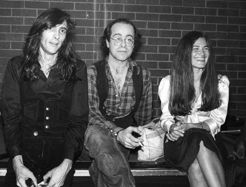 John Cipollina, Robert Hunter, Donna Godchaux