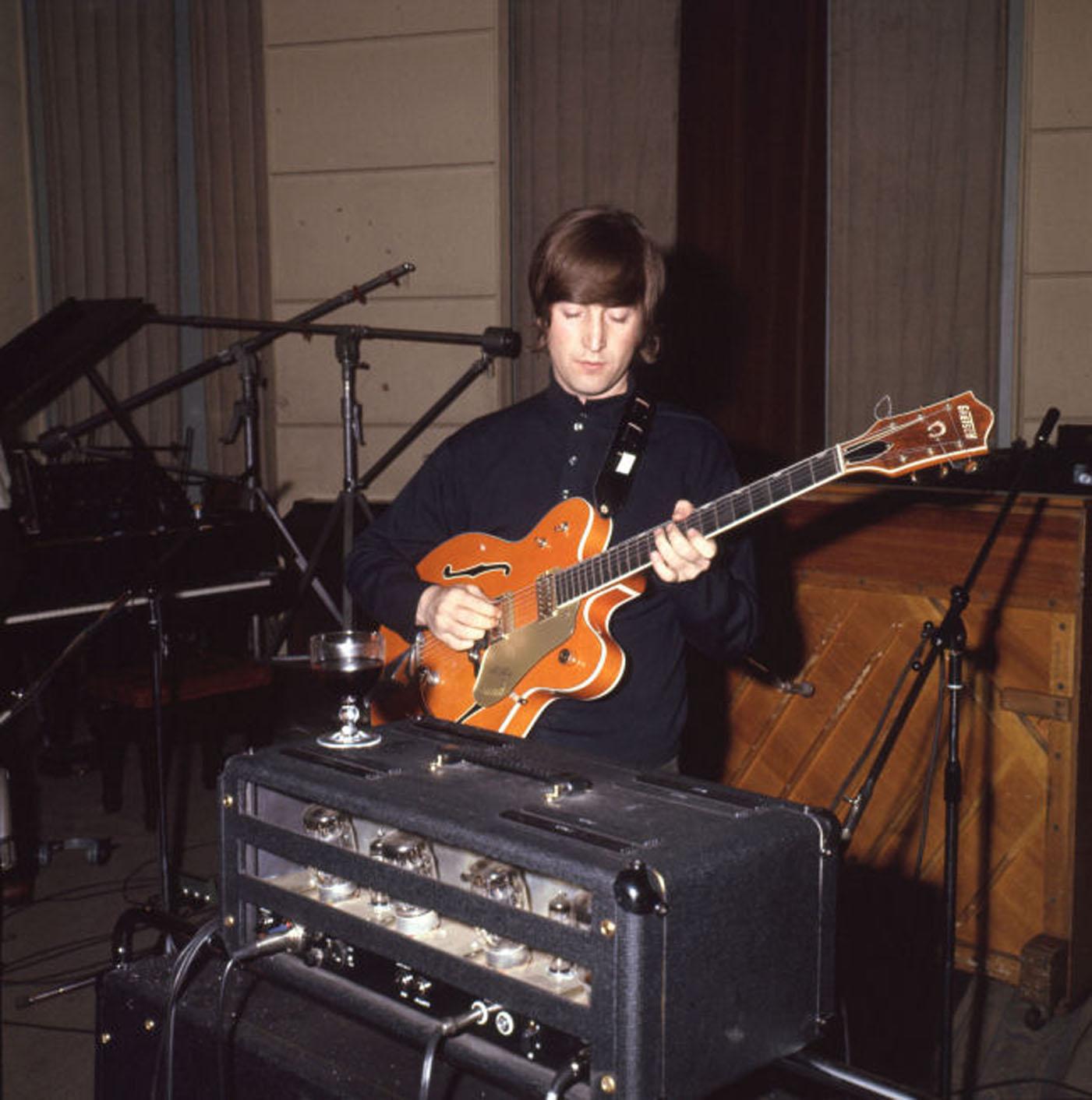 John Lennon's 'Paperback Writer' Guitar Sells for $530K to Colts Owner