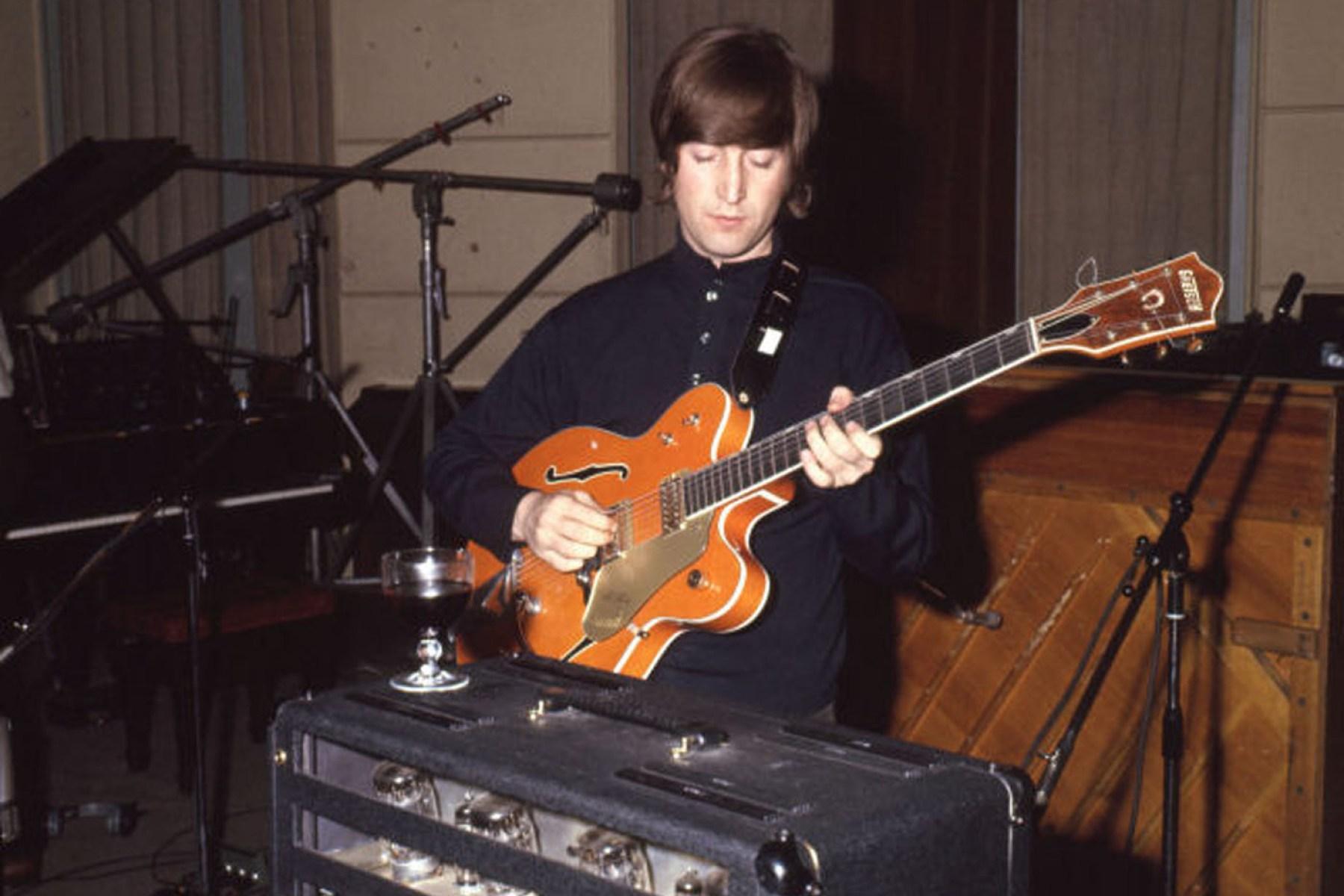 John Lennon S Paperback Writer Guitar Sells For 530k To Colts Owner Rolling Stone