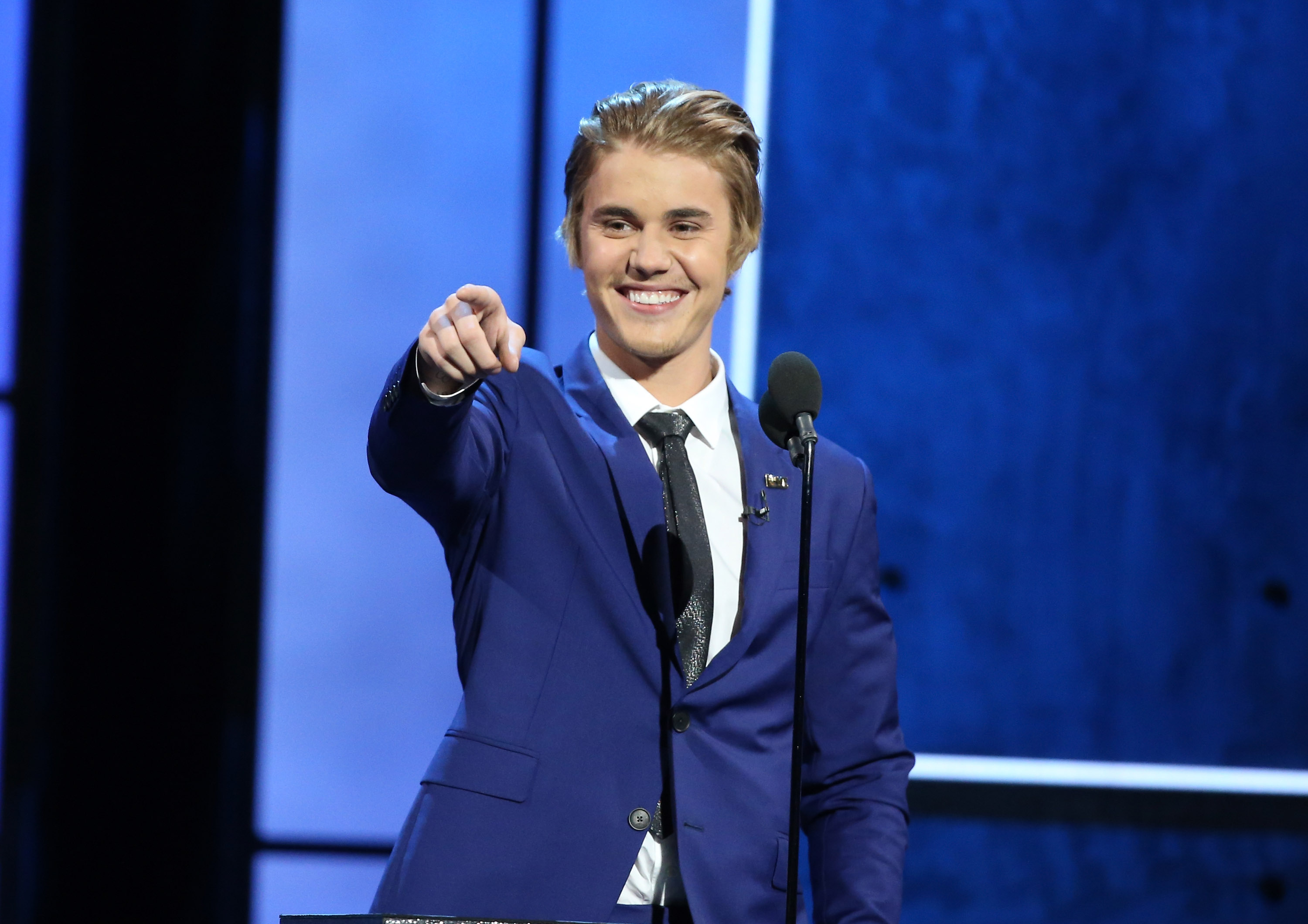 c6661e374d2eb4 Justin Bieber speaks onstage during Comedy Central Roast of Justin Bieber  held at Sony Picture Studios in Los Angeles