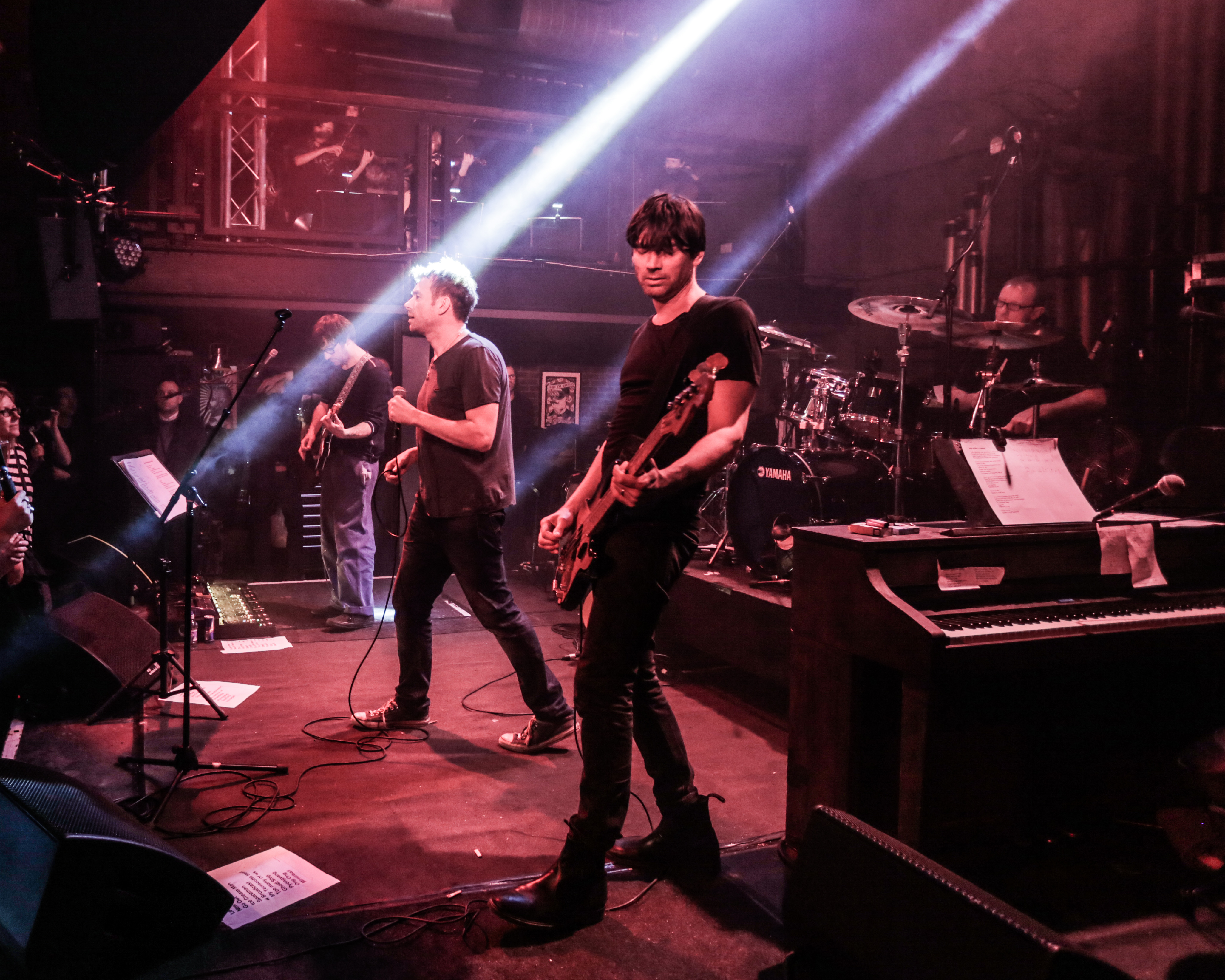 Blur Debut 'The Magic Whip' in Its Entirety at Small London Club