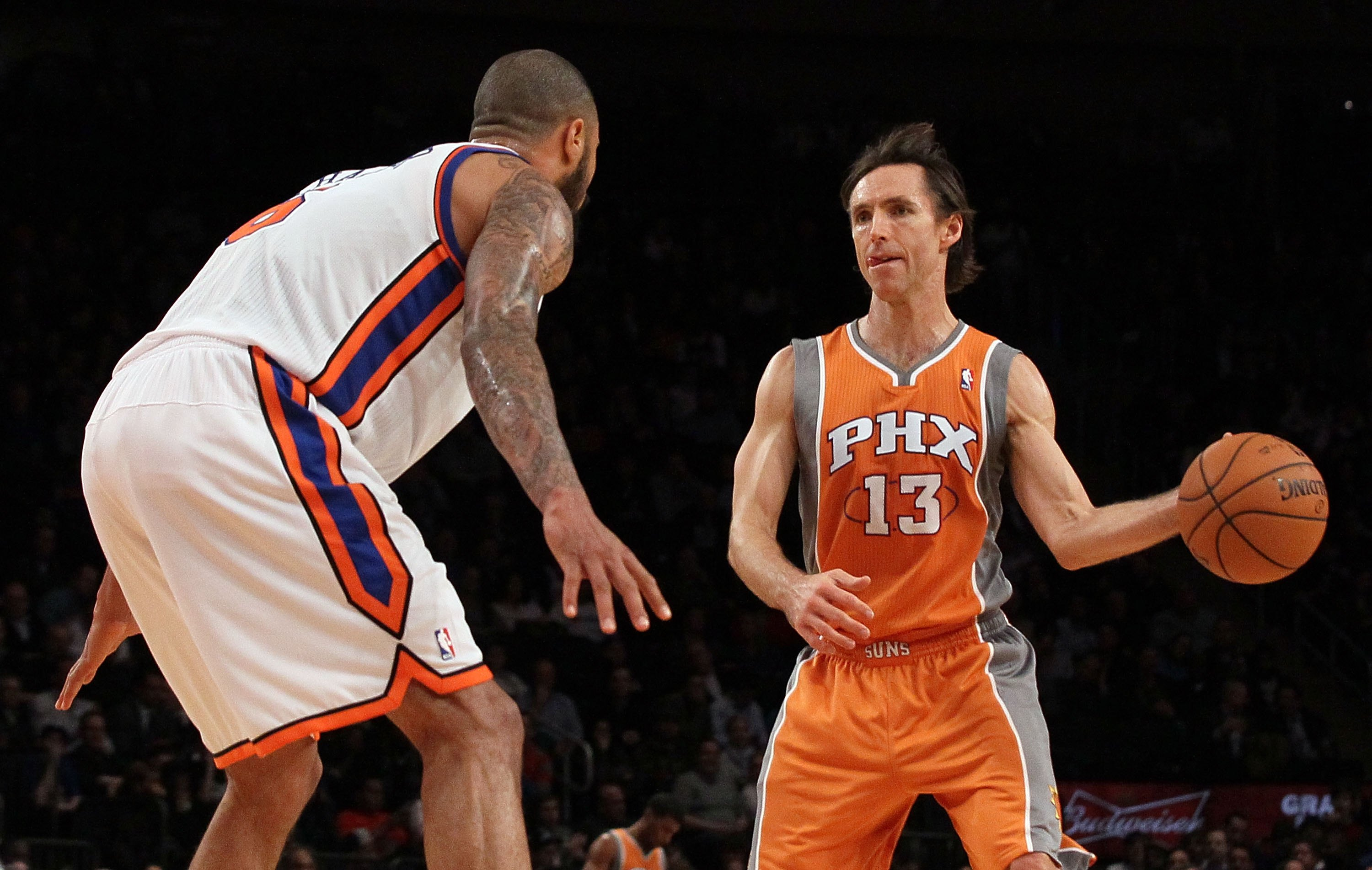 3c10589ccf1f Steve Nash  13 of the Phoenix Suns against the New York Knicks on January  18