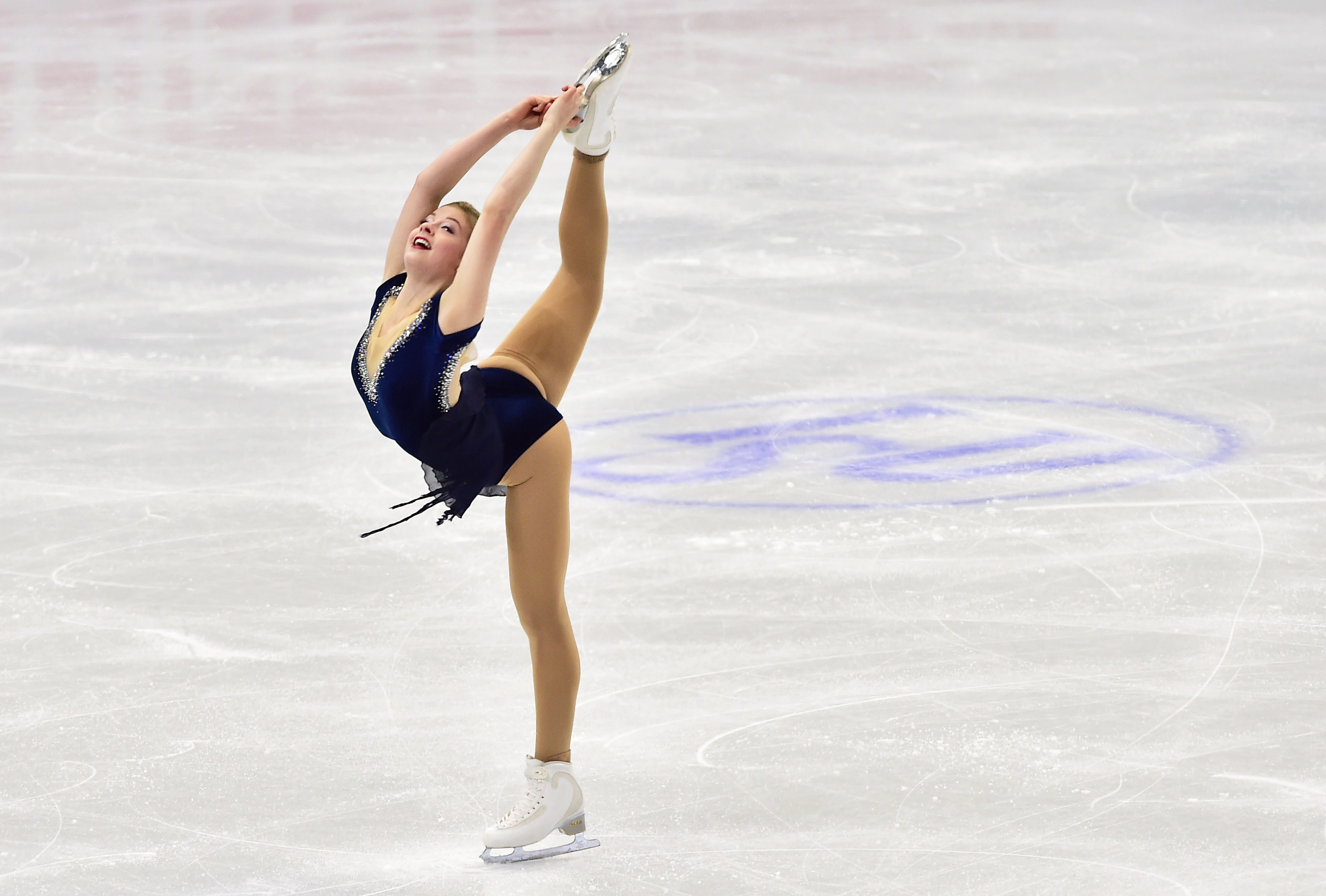 Gracie Gold Performs At The Four Continents Figure Skating Championships In February