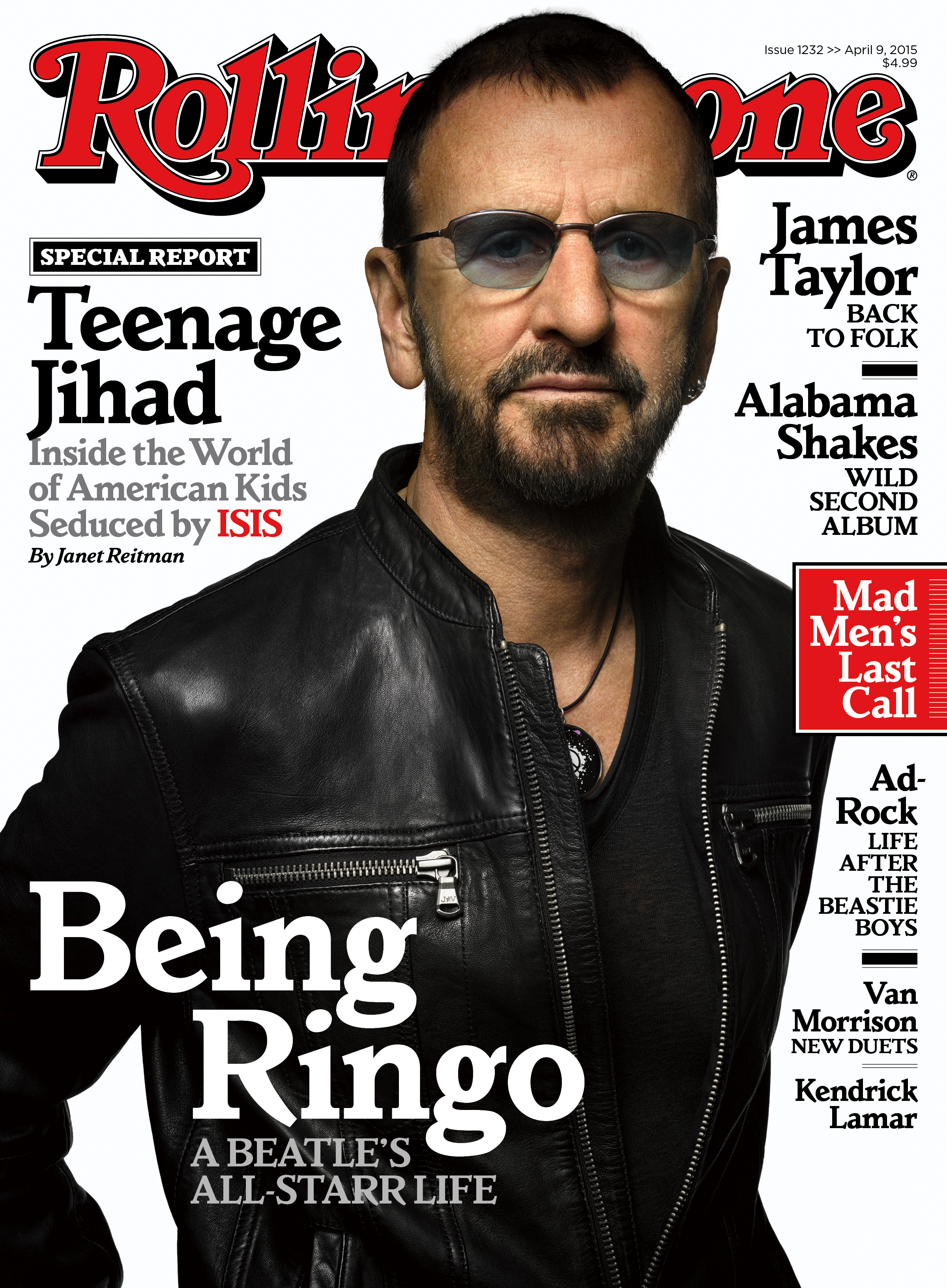 Ringo's All-Starr Life: Inside Rolling Stone's New Issue ...