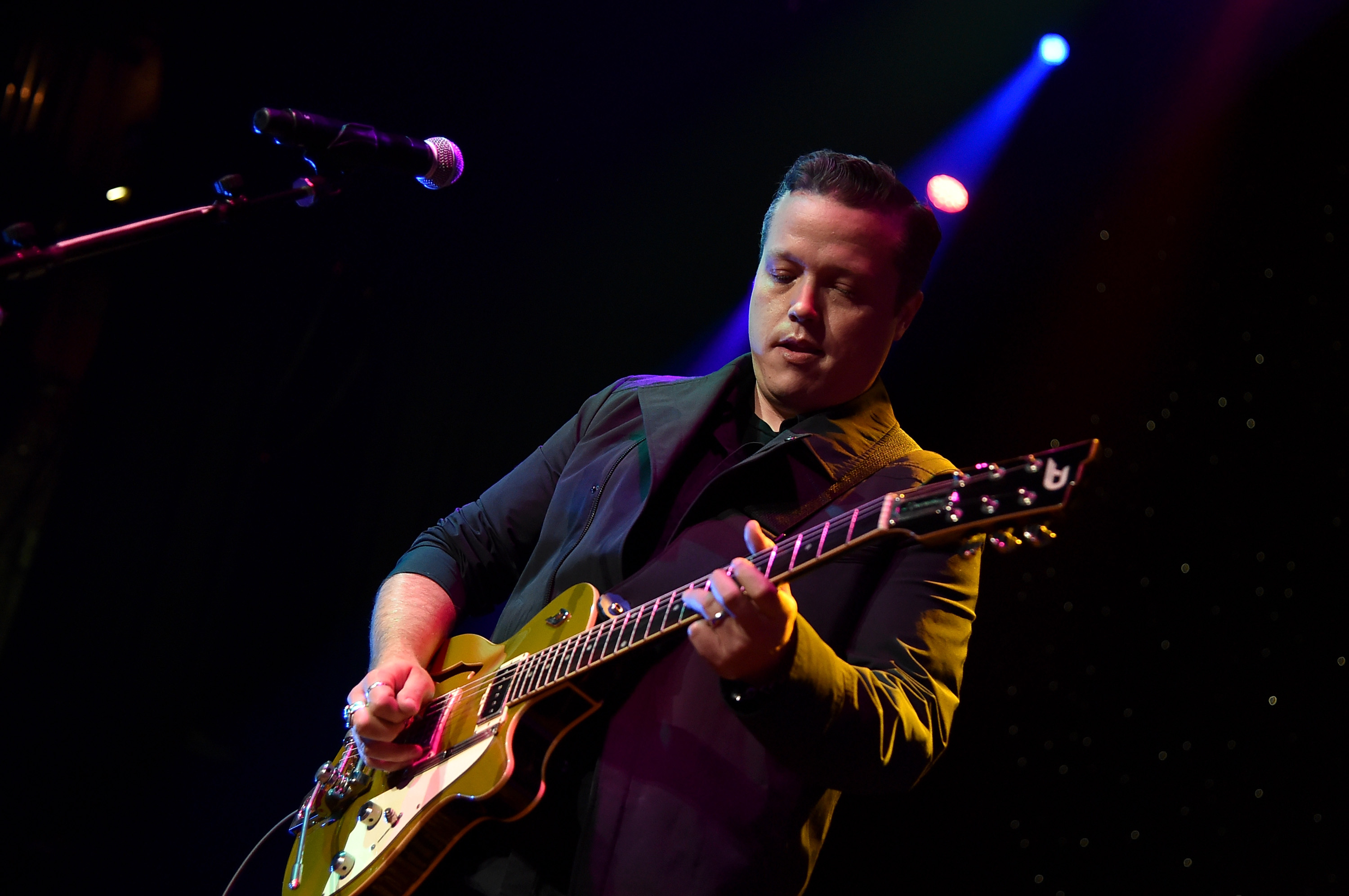 In The Studio With Jason Isbell Making Celebratory New Lp