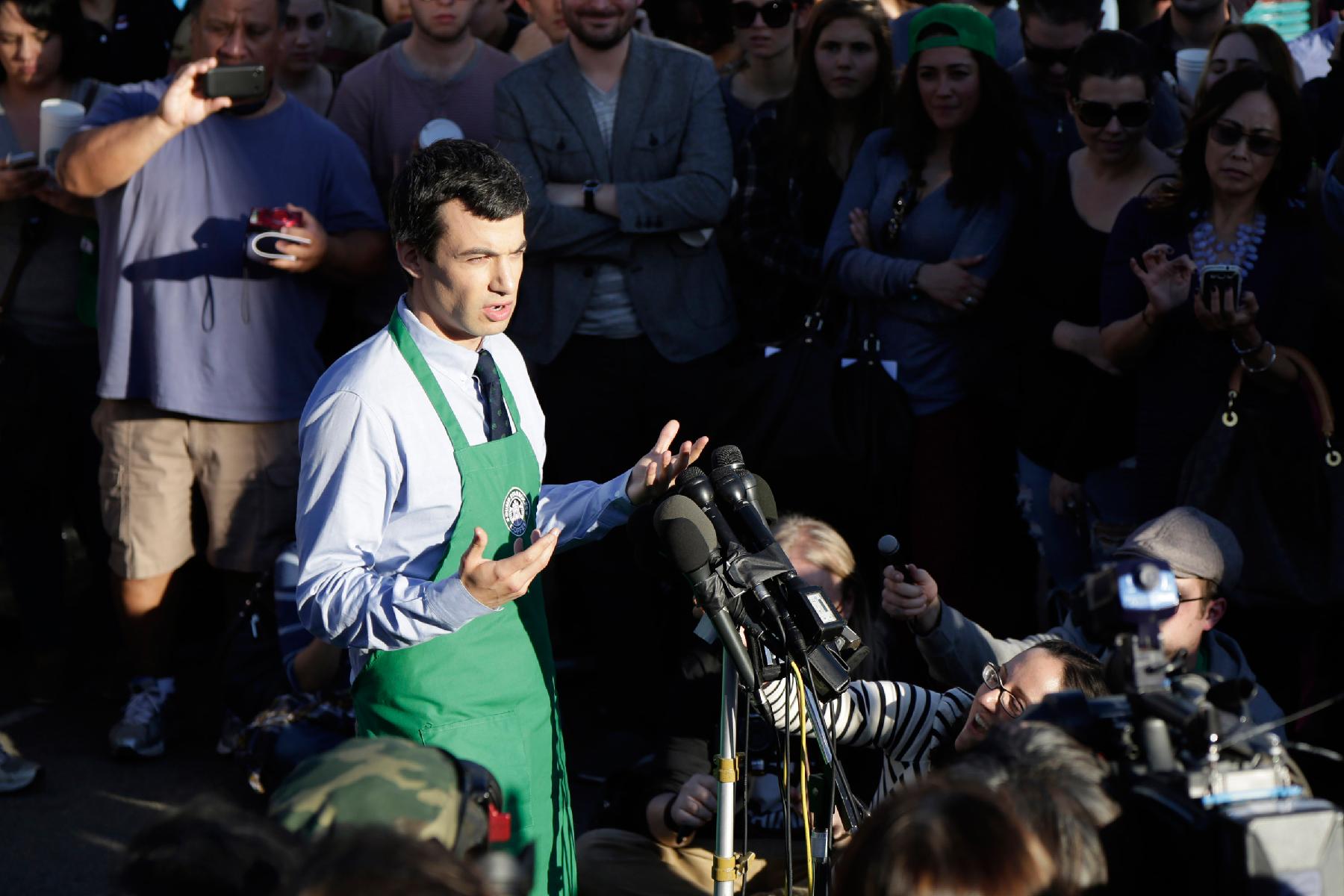 Nathan Fielder Talks 'Dumb Starbucks' And Pranking Instagram