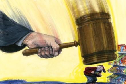 Cruel and Unusual Punishment: The Shame of Three Strikes