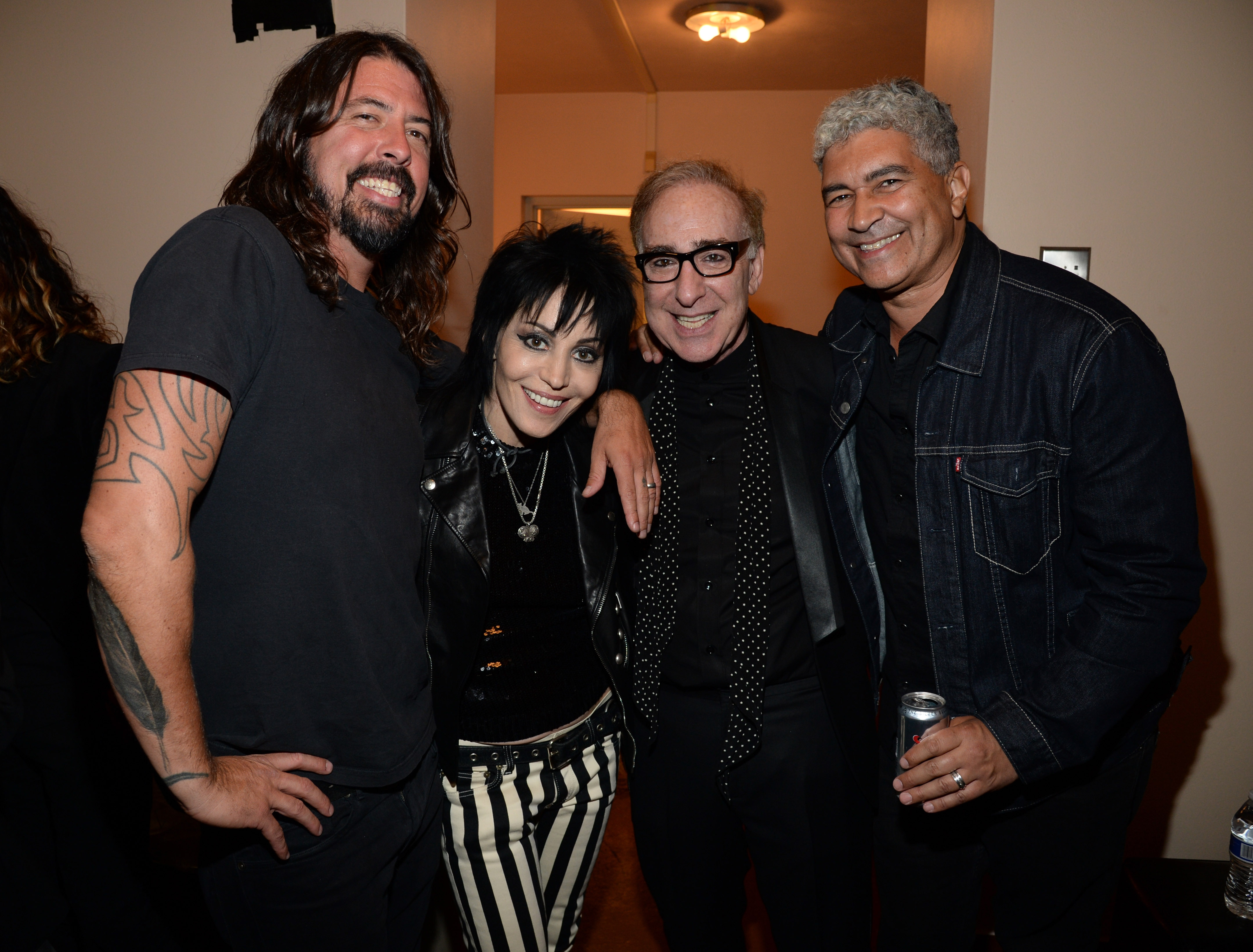 Dave Grohl, Joan Jett, Kenny Laguna et Pat Smear