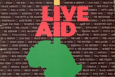 Live Aid 1985: Bowie, Freddie Mercury, Elton John, Paul McCartney