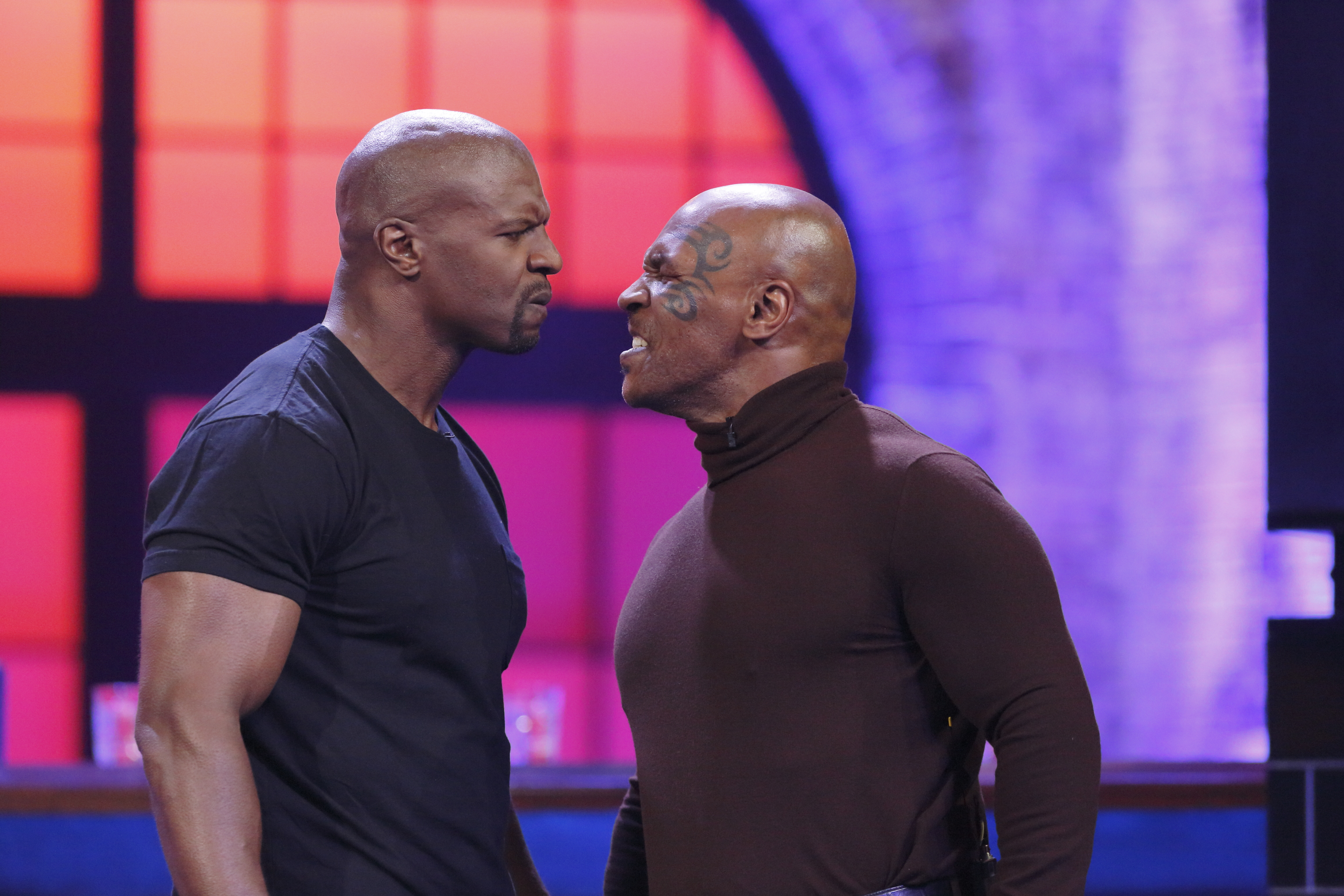 Watch Terry Crews Punch Out Mike Tyson On Lip Sync Battle