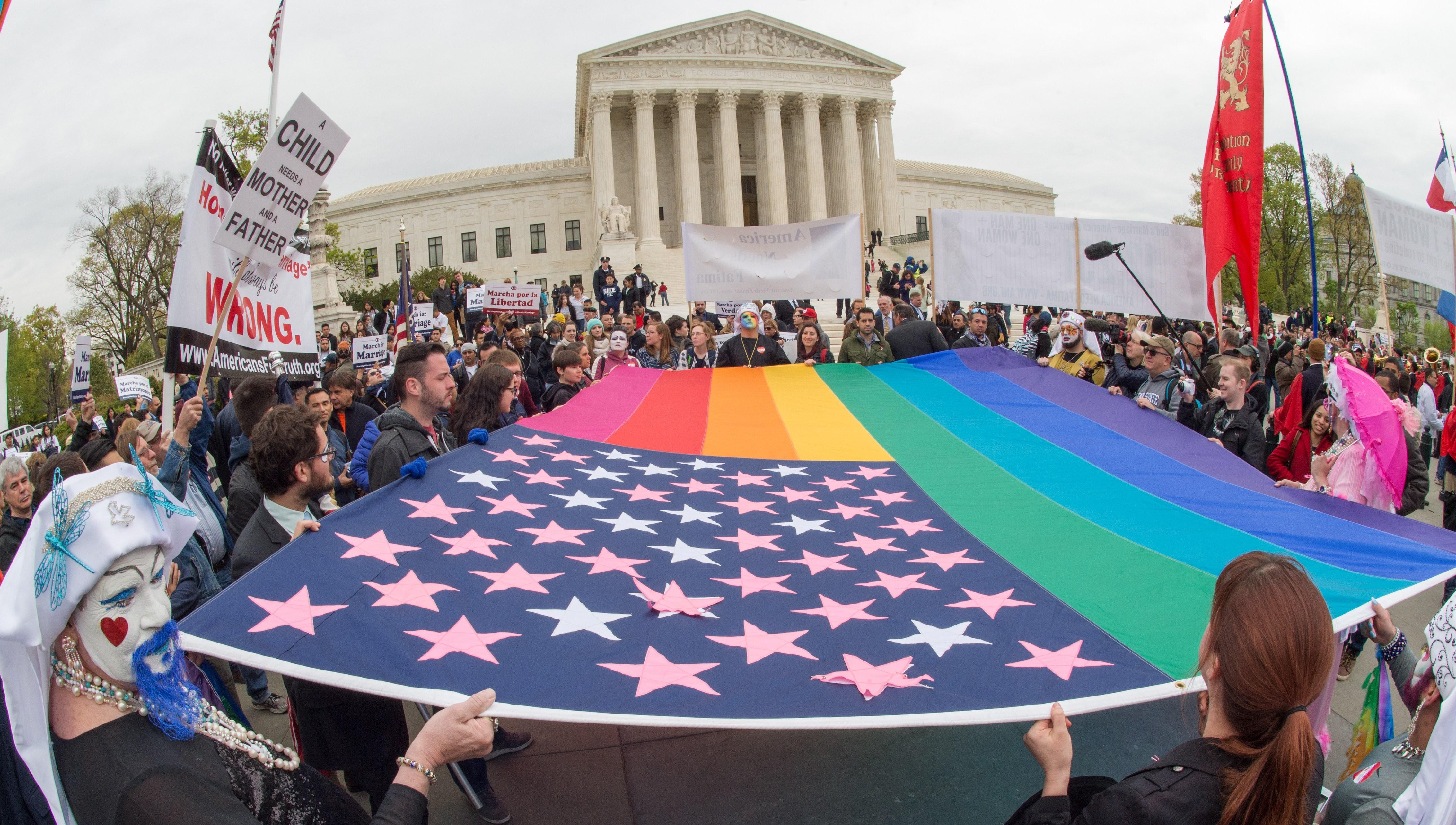 Same sex marriage supreme court case