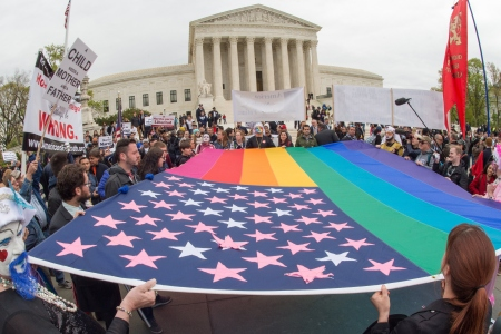 Court cases on same sex marriages