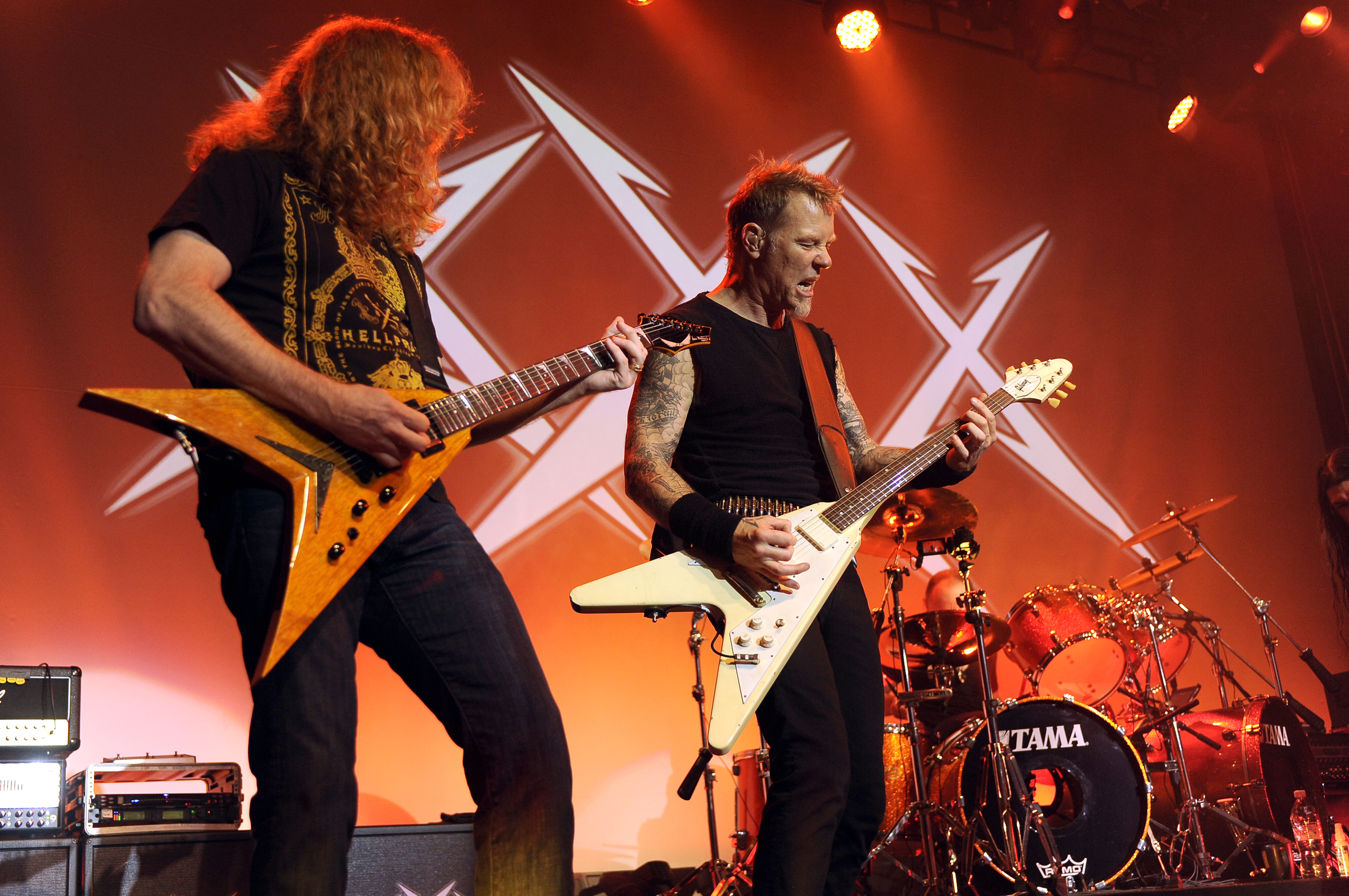 Flashback: Metallica Reunite With Dave Mustaine For Super Jam - Rolling  Stone