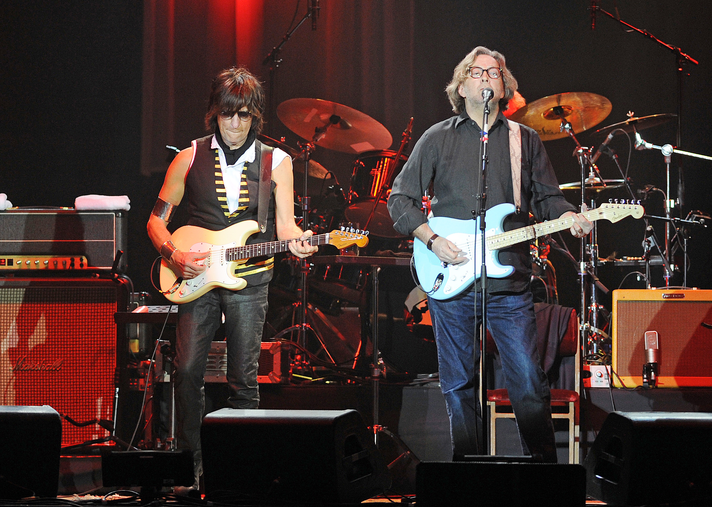 Clapton And Beck The Long And Winding Road Rolling Stone