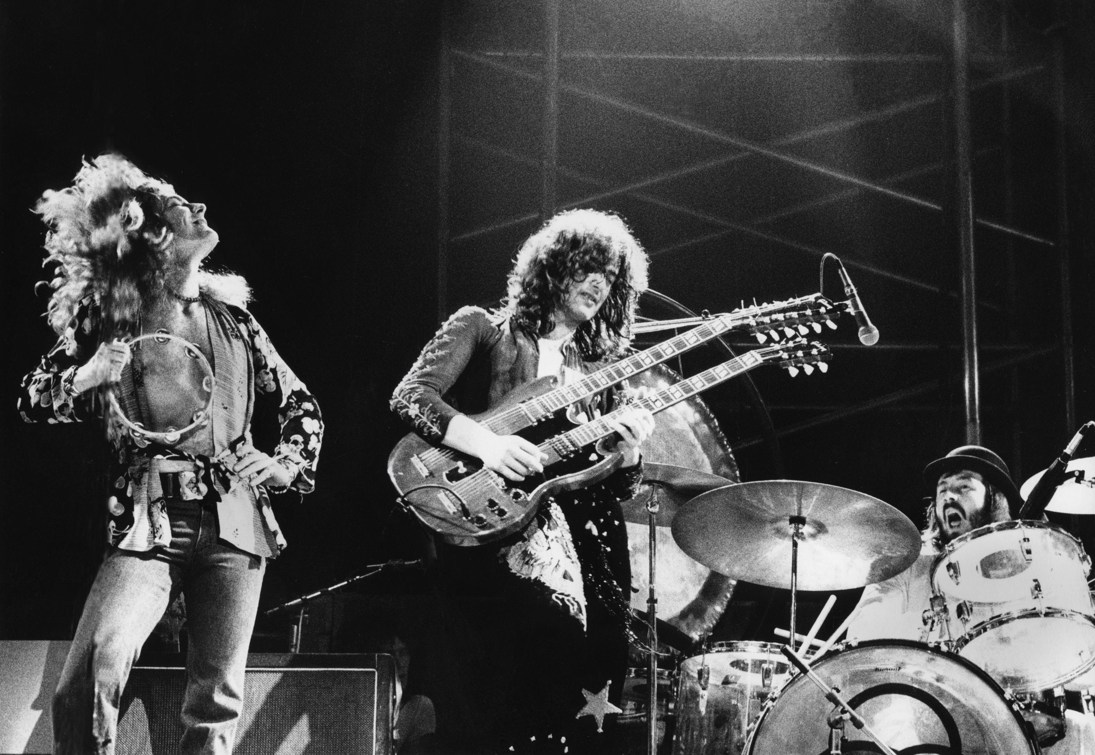d879fe53 Robert Plant, Jimmy Page, John Bonham, Led Zeppelin