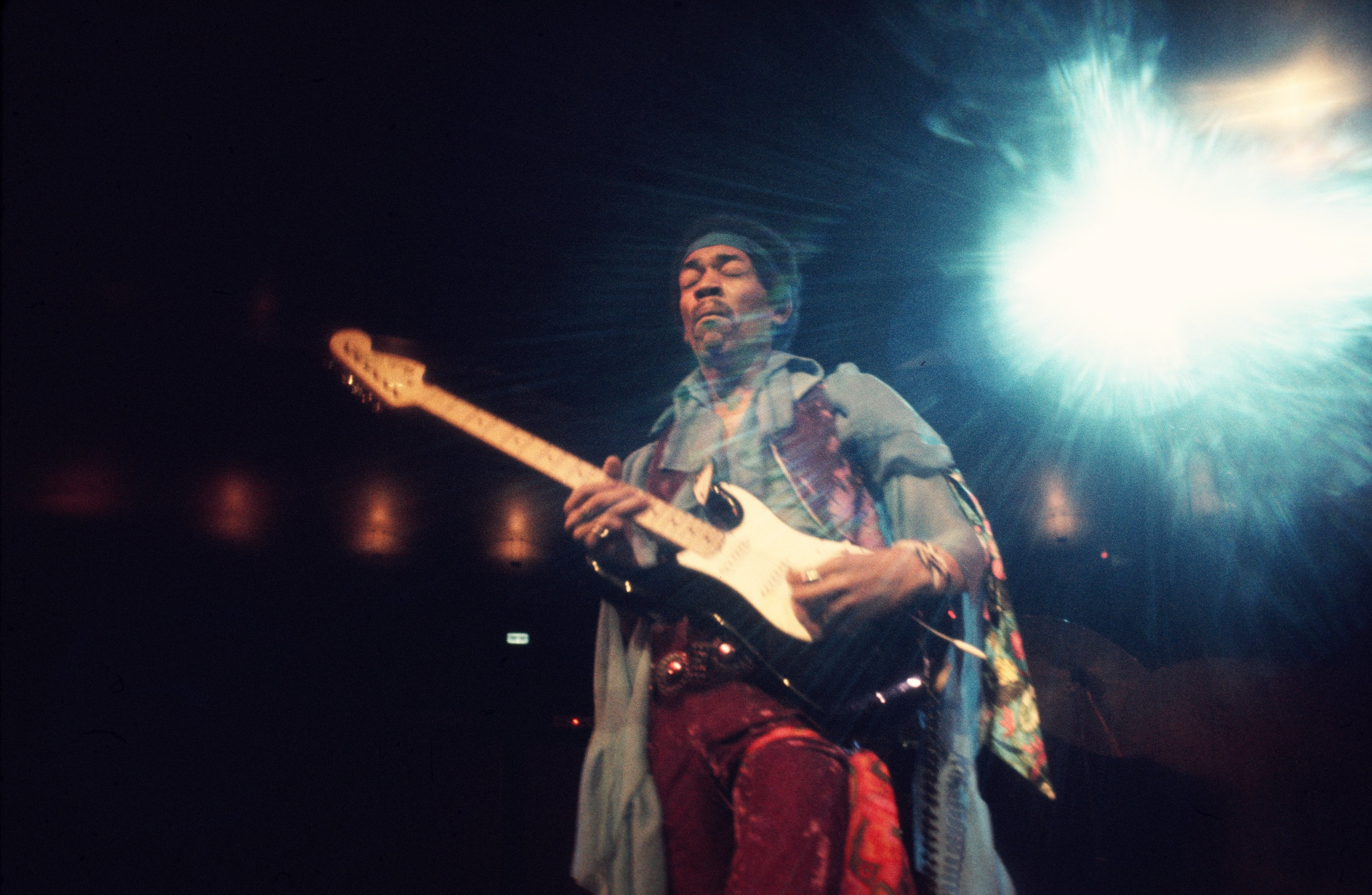 Jimi Hendrix And The Band Of Gypsies At Fillmore East Rolling