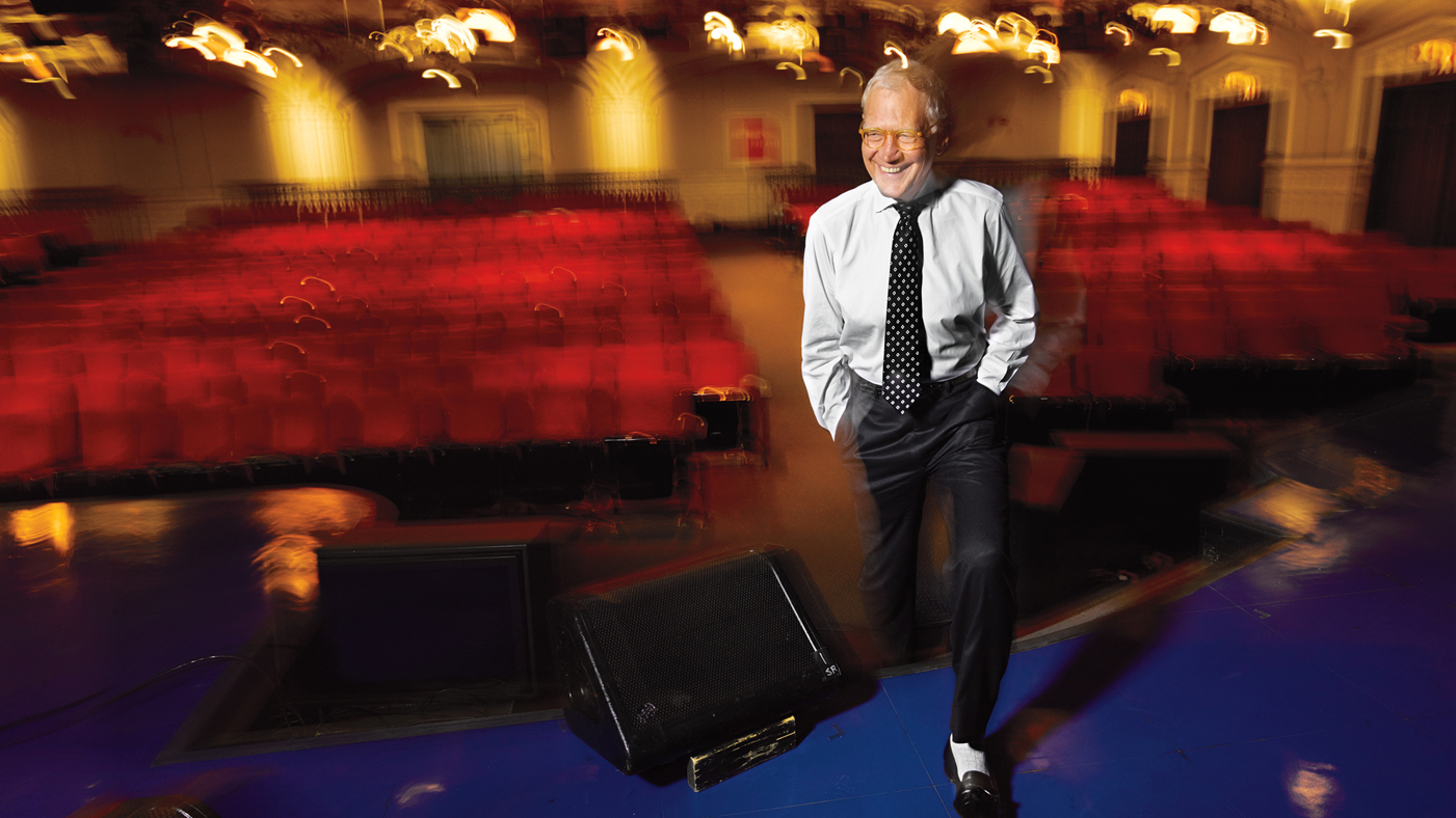 David Letterman: Happy at Last