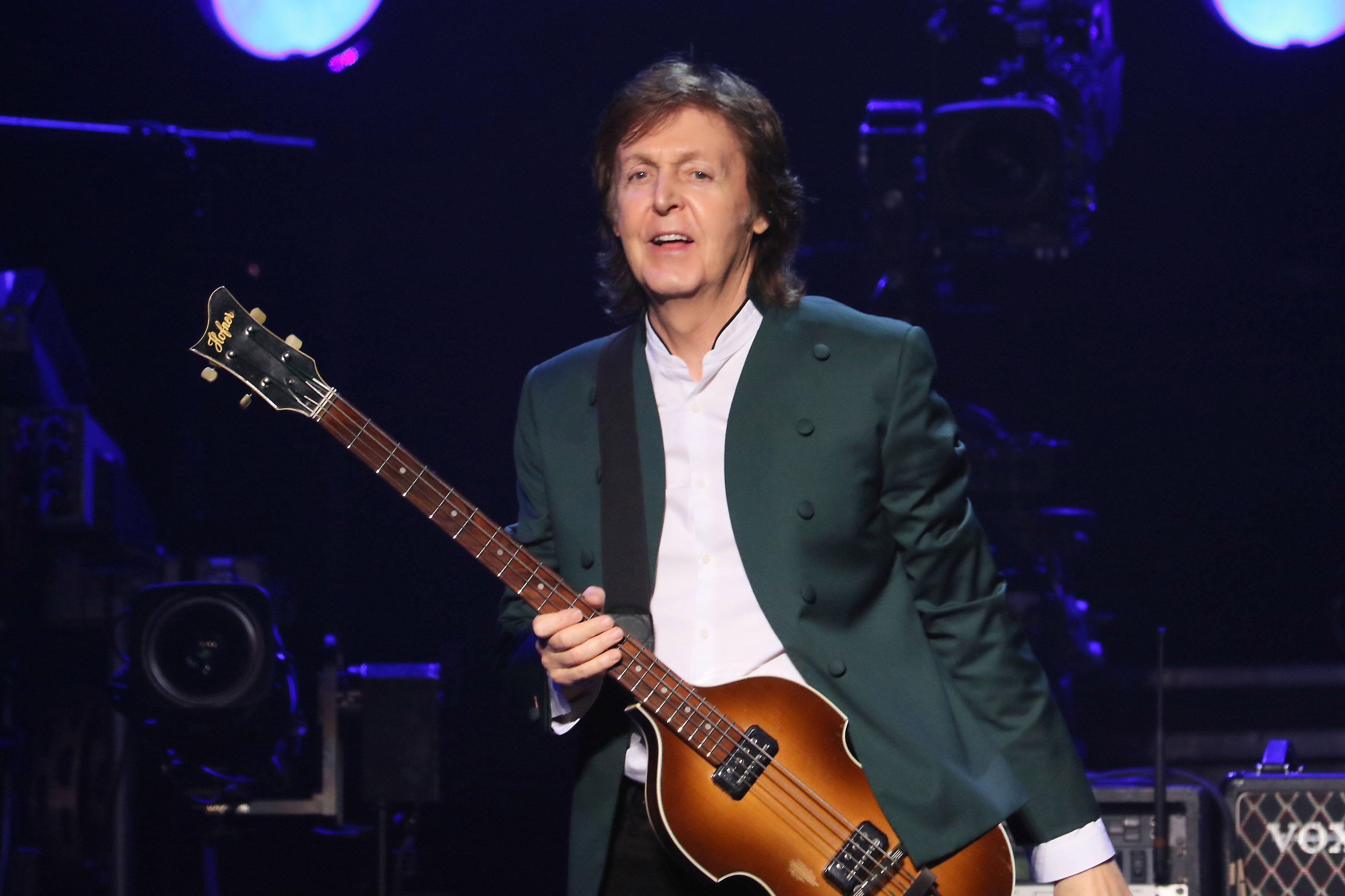 Paul McCartney Performs Live At The Budokan In Tokyo Japan On April 28th 2015