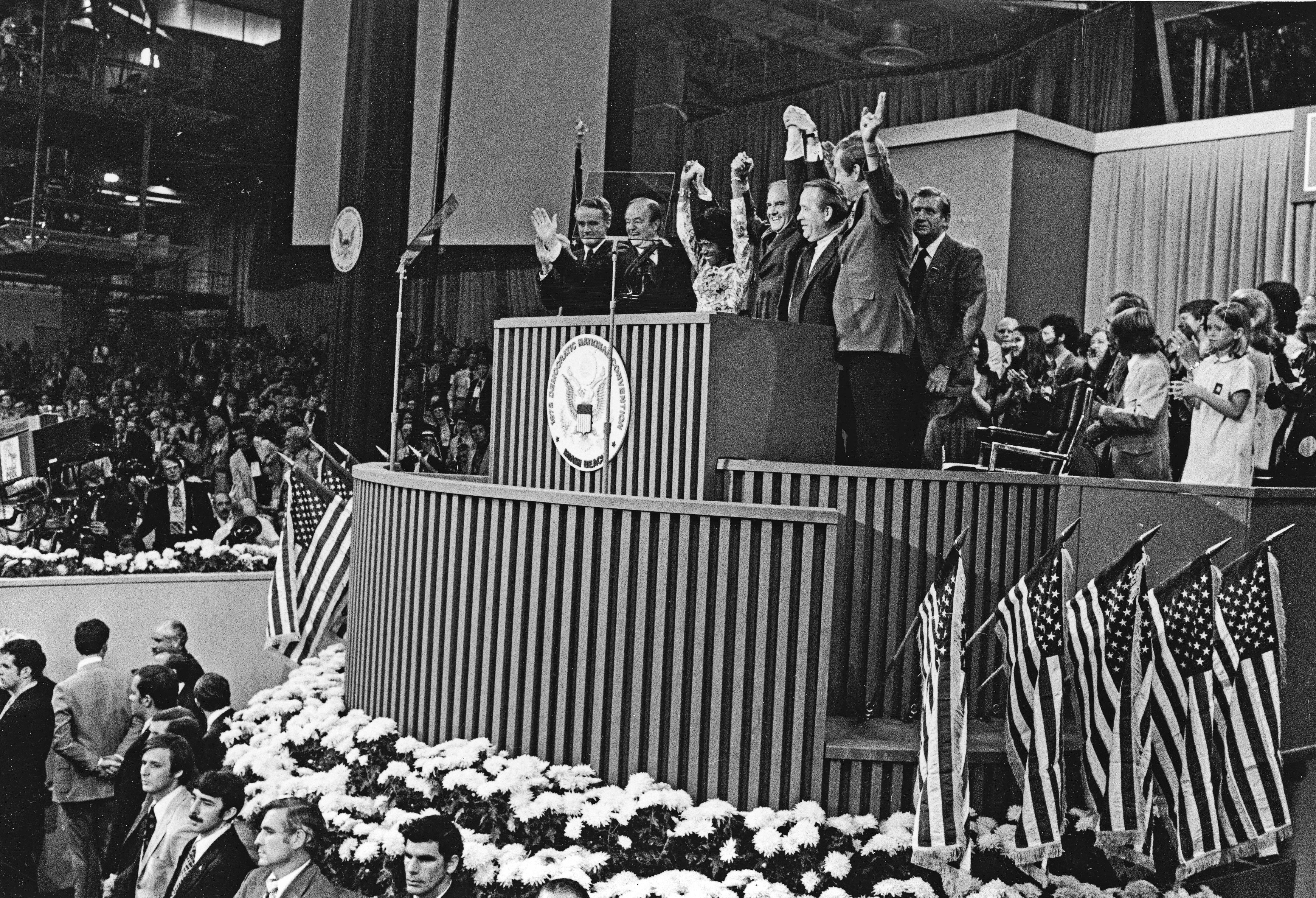 1972 Democratic National Convention ALTERNATE DELEGATE Ticket George McGovern