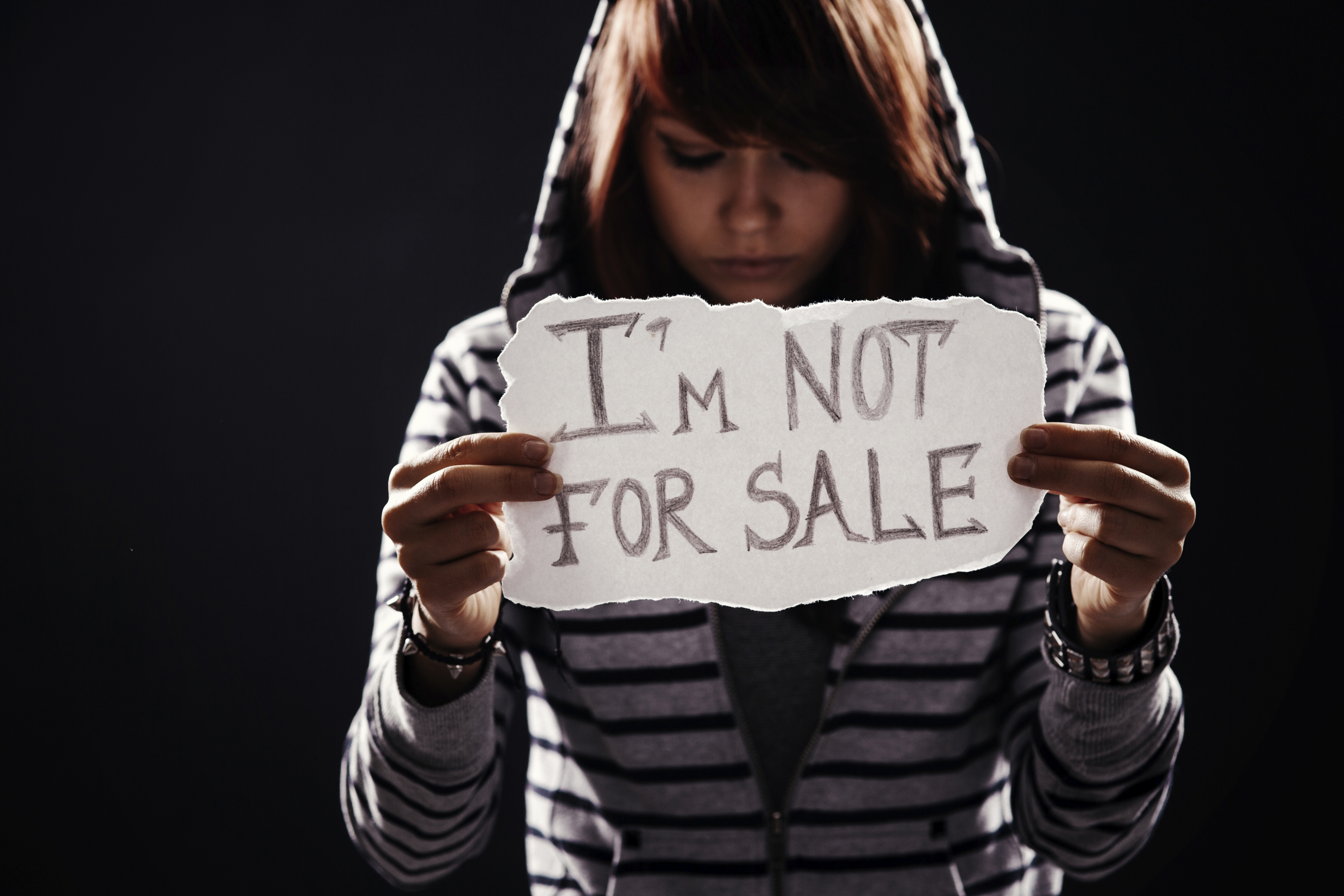 Young Woman Sign Im Not For
