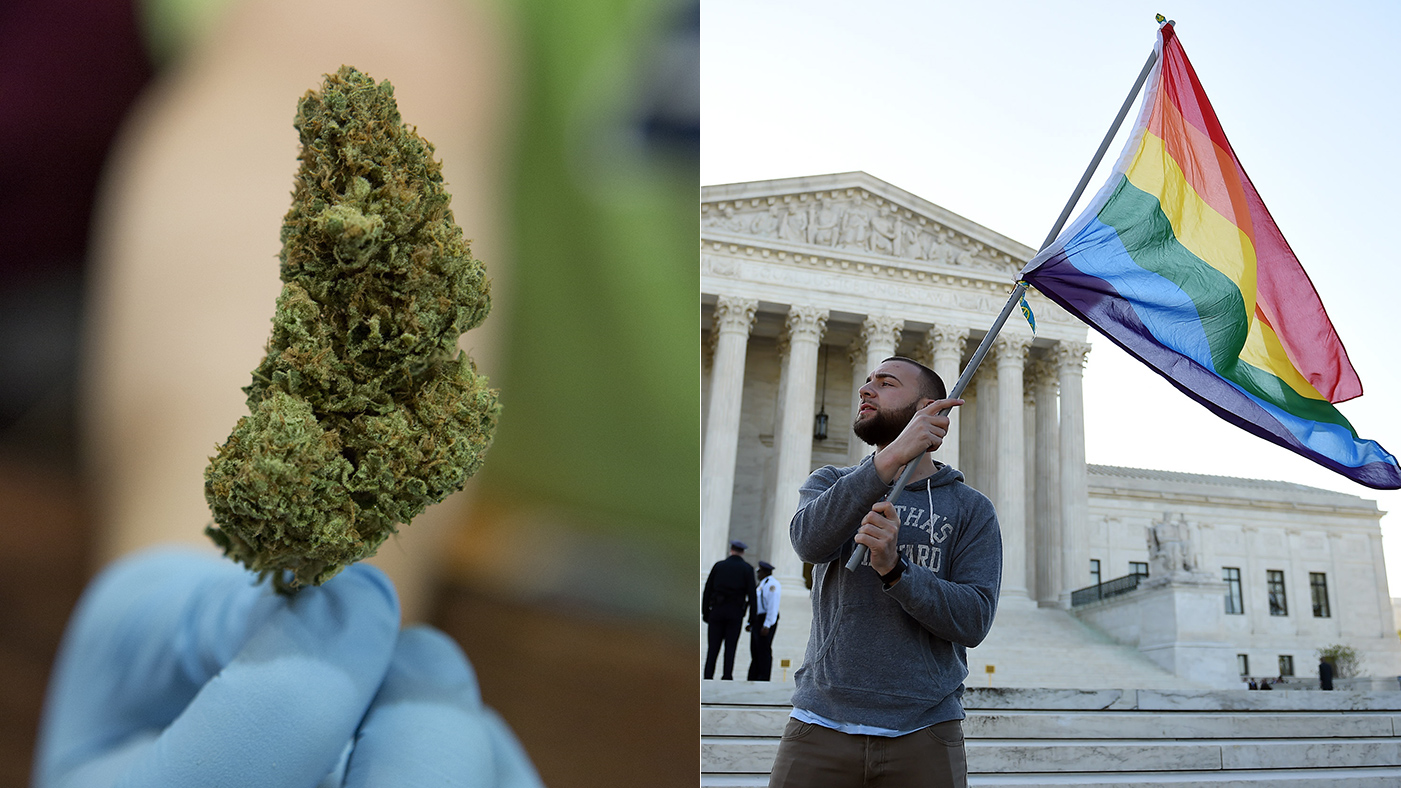 Legal Pot, Marriage Equality Making Americans More Socially Liberal
