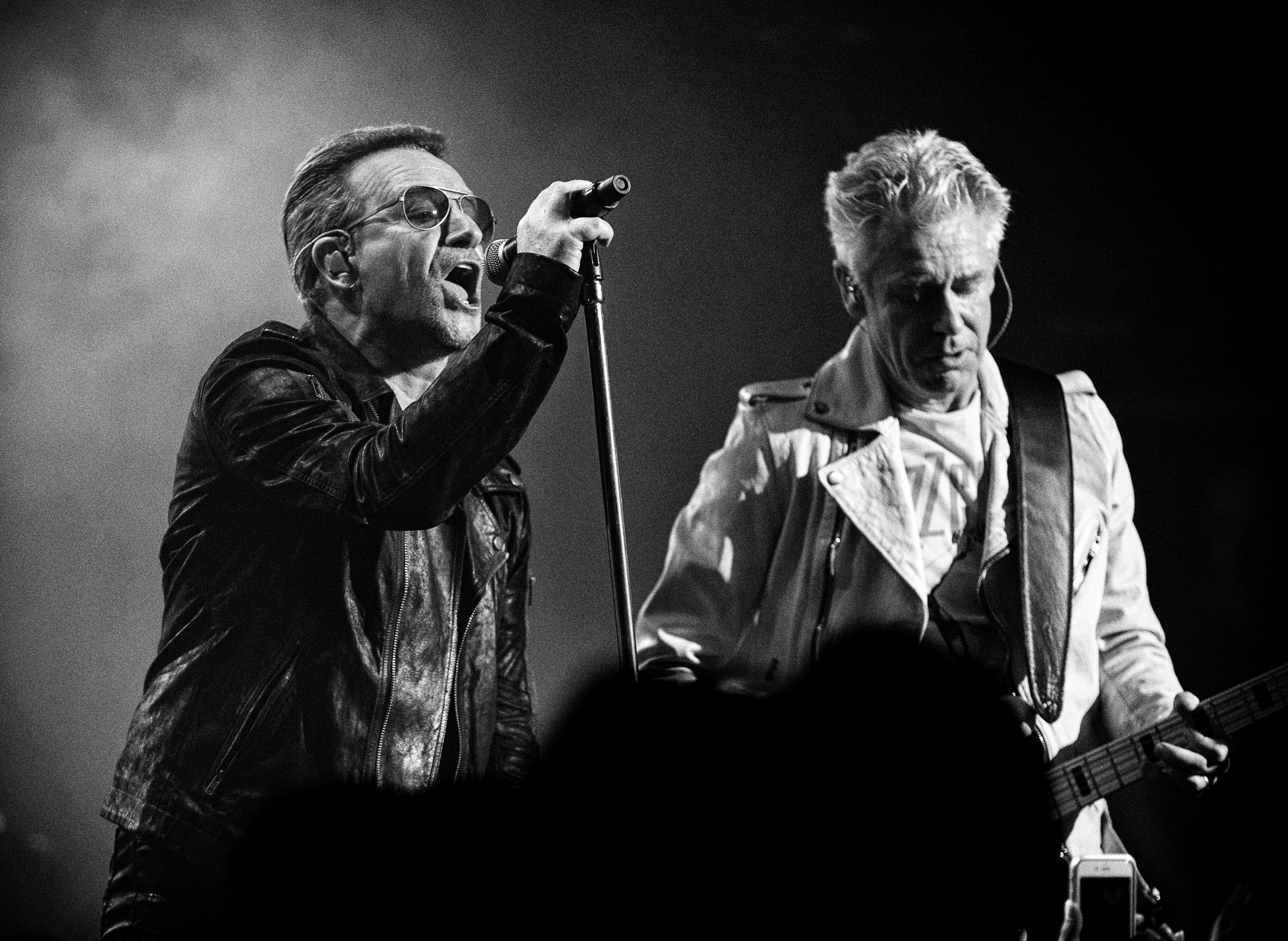 U2 Play Old Hits, Share Stories at Thrilling 500-Capacity Roxy Gig