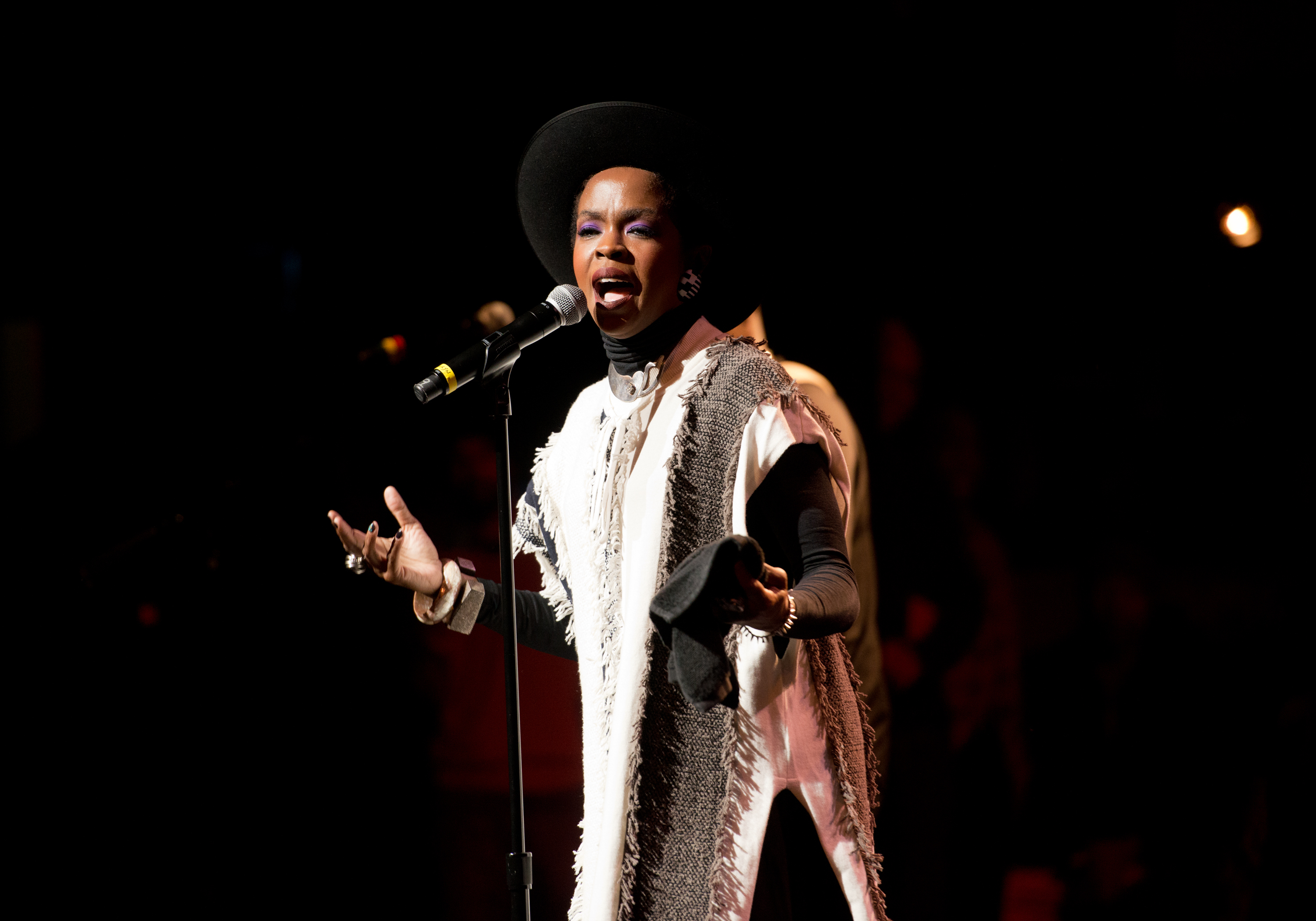 Lauryn Hill Conducts Explosive Nina Simone Tribute at NYC Doc Premiere