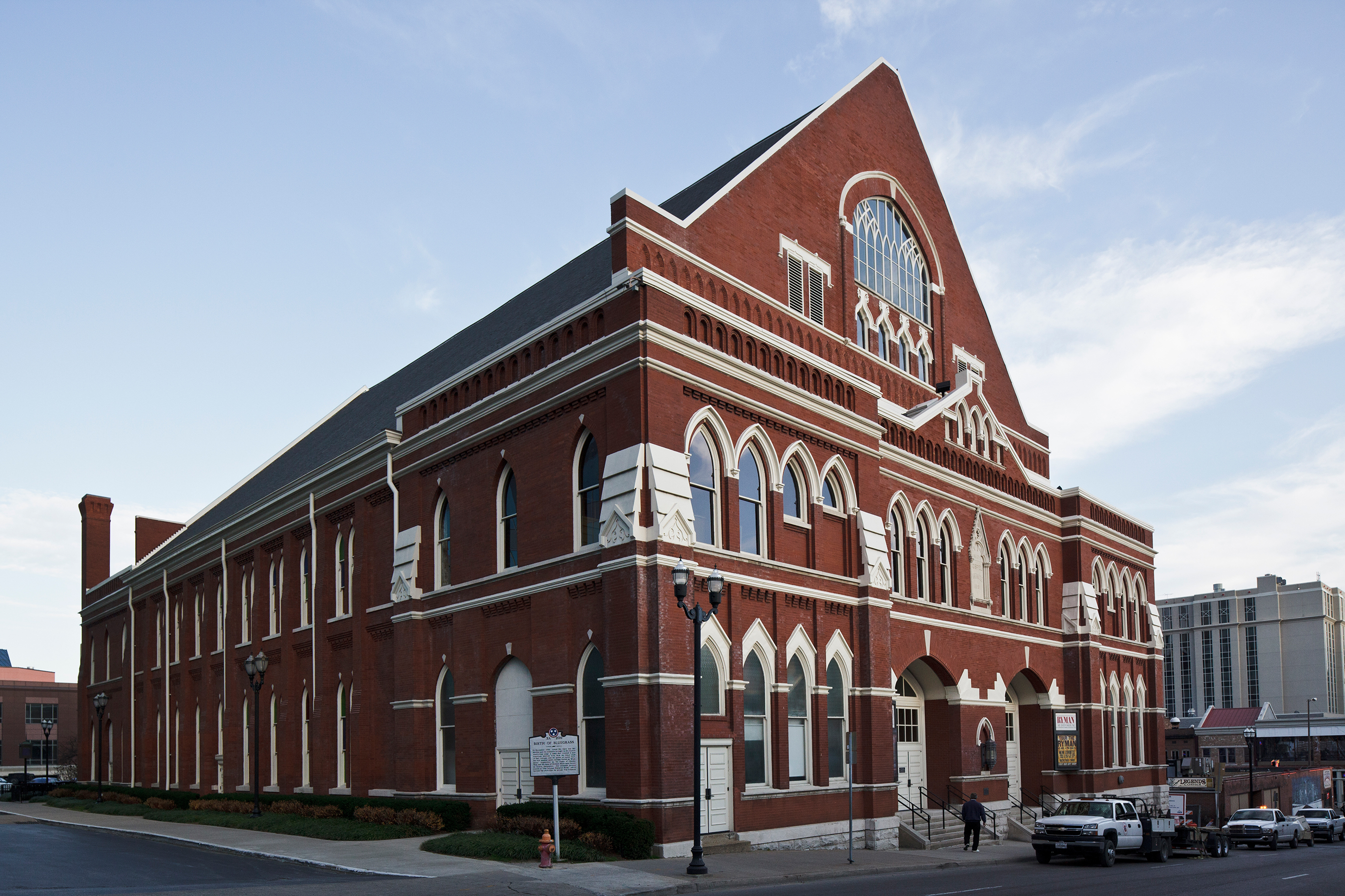 Image result for historical pictures of ryman auditorium