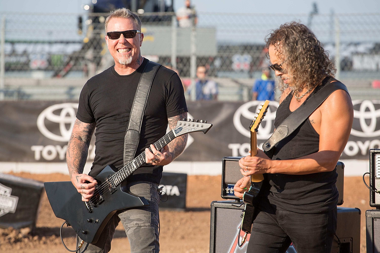 Metallica to Play National Anthem at NBA Finals