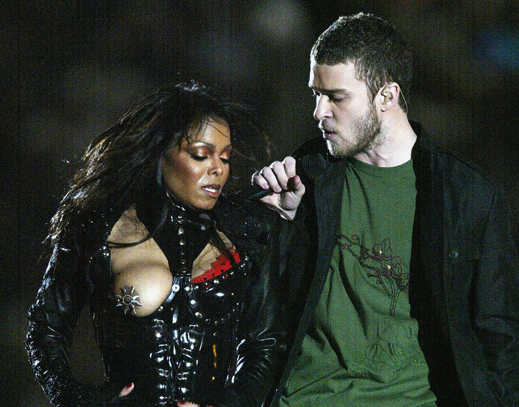 Janet Jackson Justin Timberlake Super Bowl Xxxviii