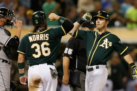 Oakland A's Josh Reddick Explains Why He's Batting to