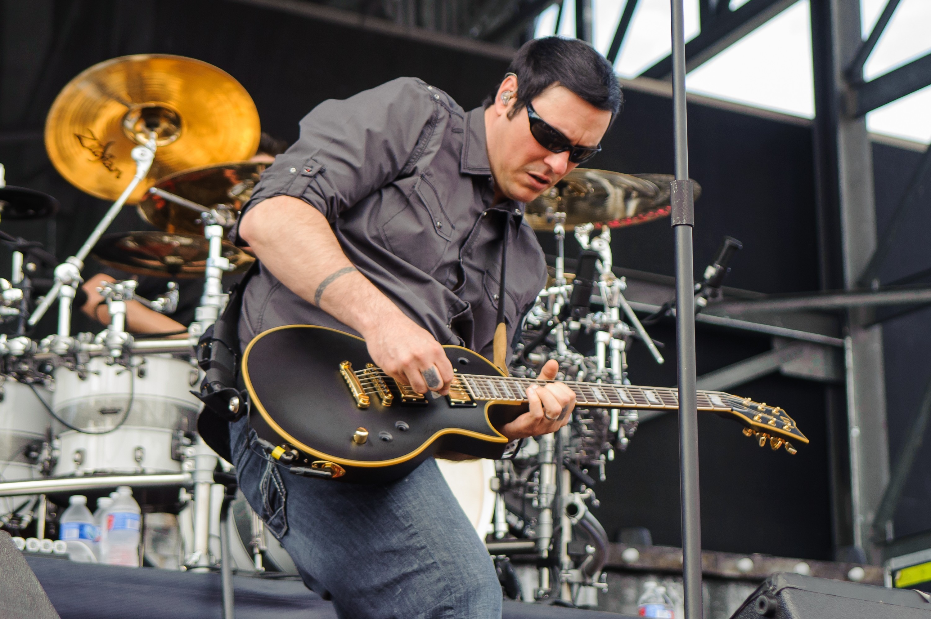 Breaking Benjamin Battle Mystery Illness on Painful Road to Number One