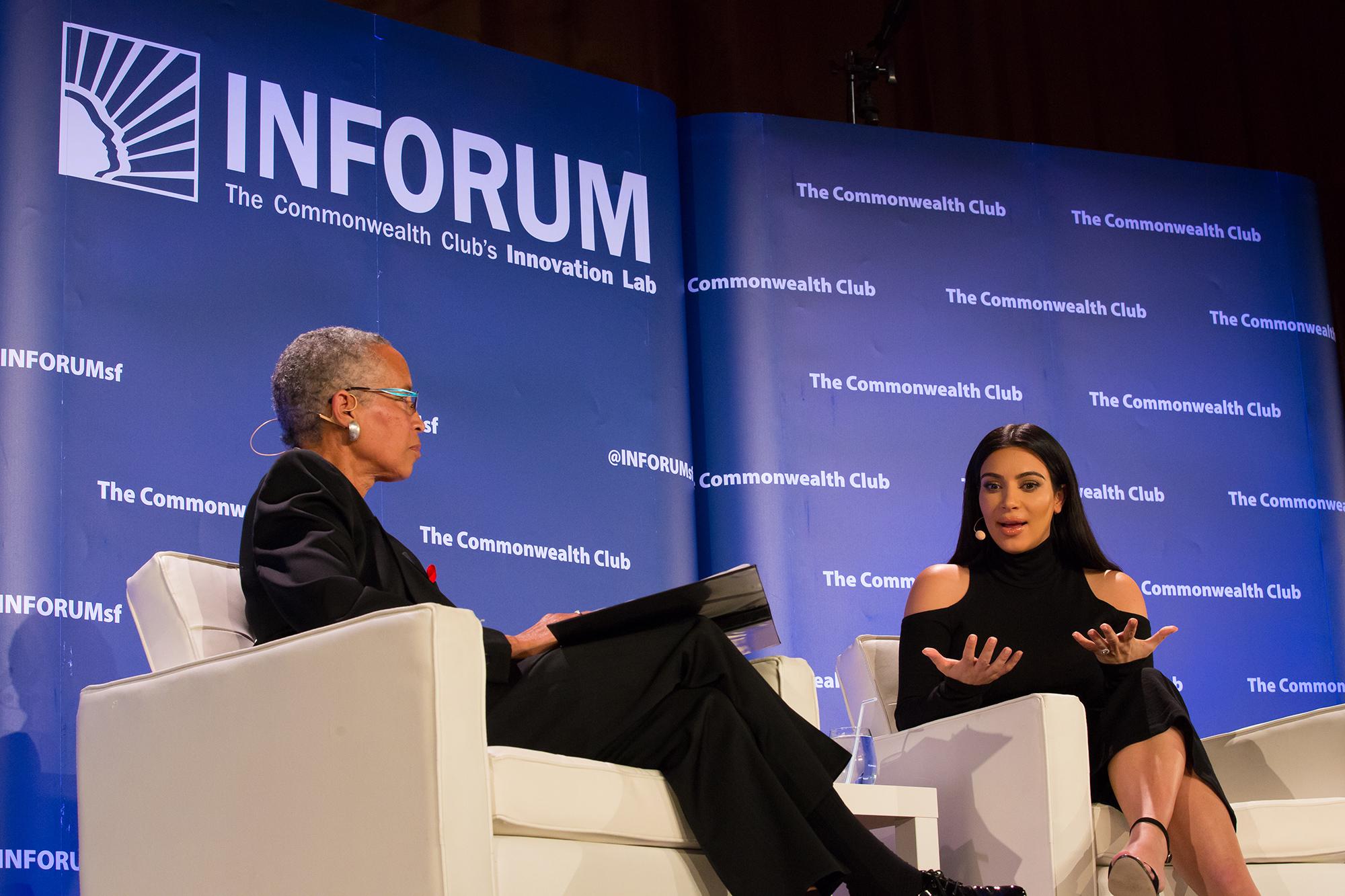 Kim Kardashian Talks Body Image, Selfies and Superfans in San Fran