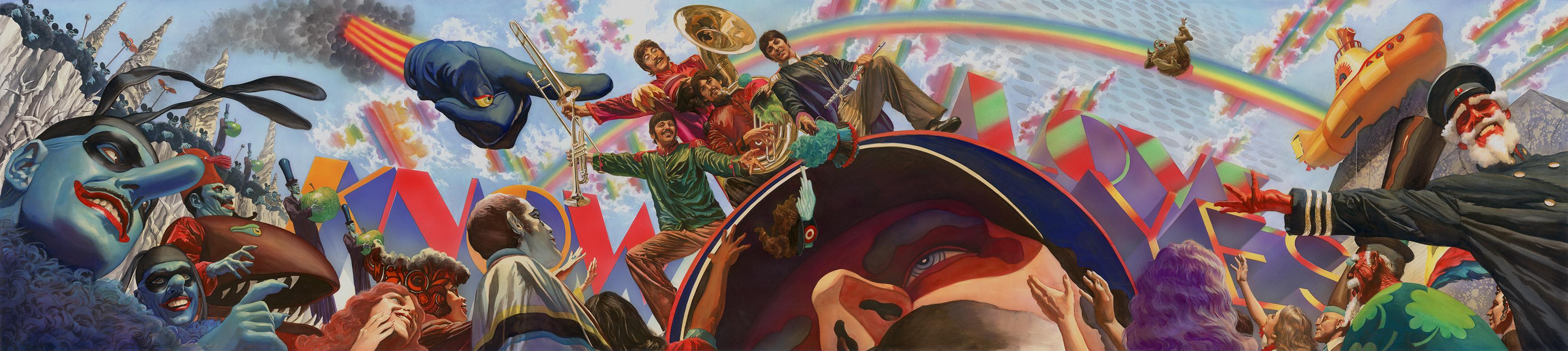See Comic Book Artist Alex Ross' Official Beatles Artwork
