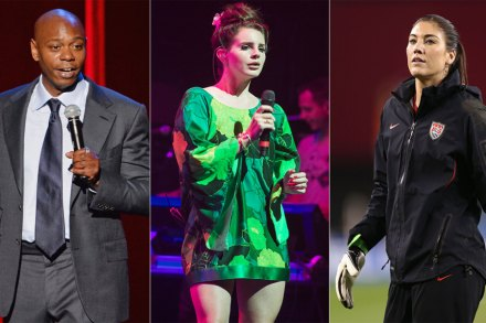 Lana Del Rey, Dave Chappelle and Hope Solo Battle For Pop