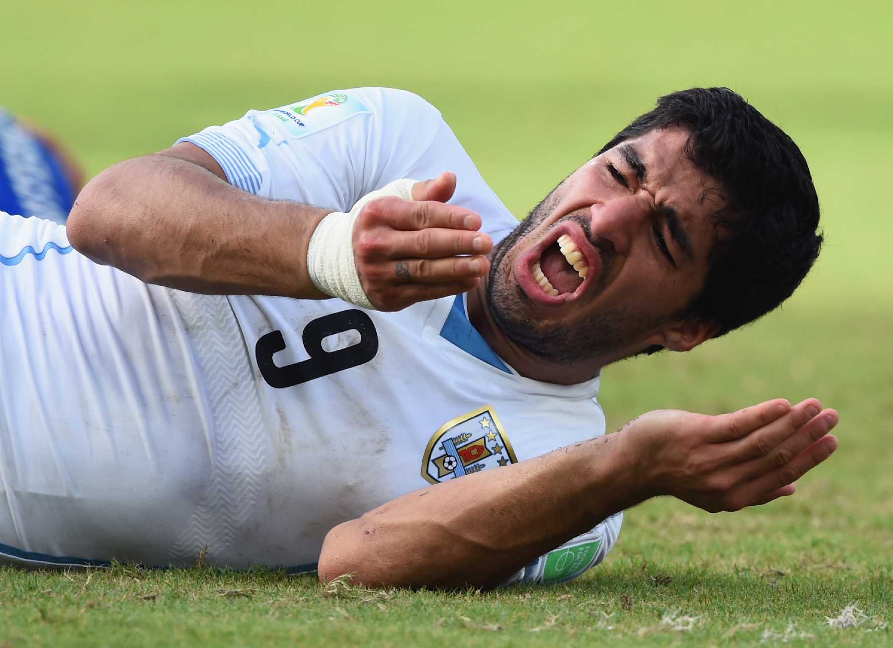 Flagrant 2: Luis Suarez Charged…With Ruining the World Cup