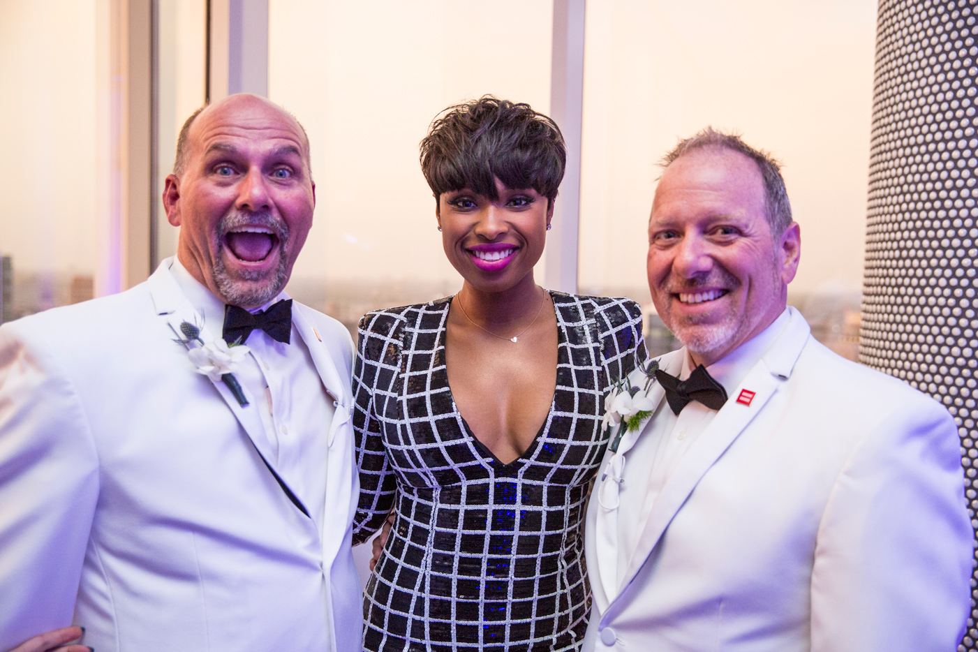 Jennifer Hudson Surprises Gay Couple With Wedding Song Rolling Stone
