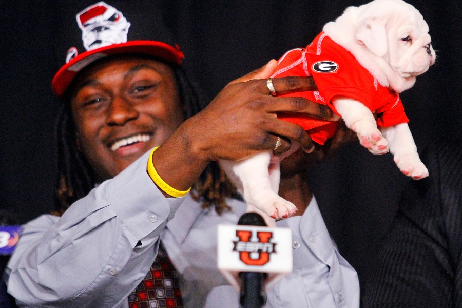 College Recruits are Committing…With Baby Gators, Fake Trees ...