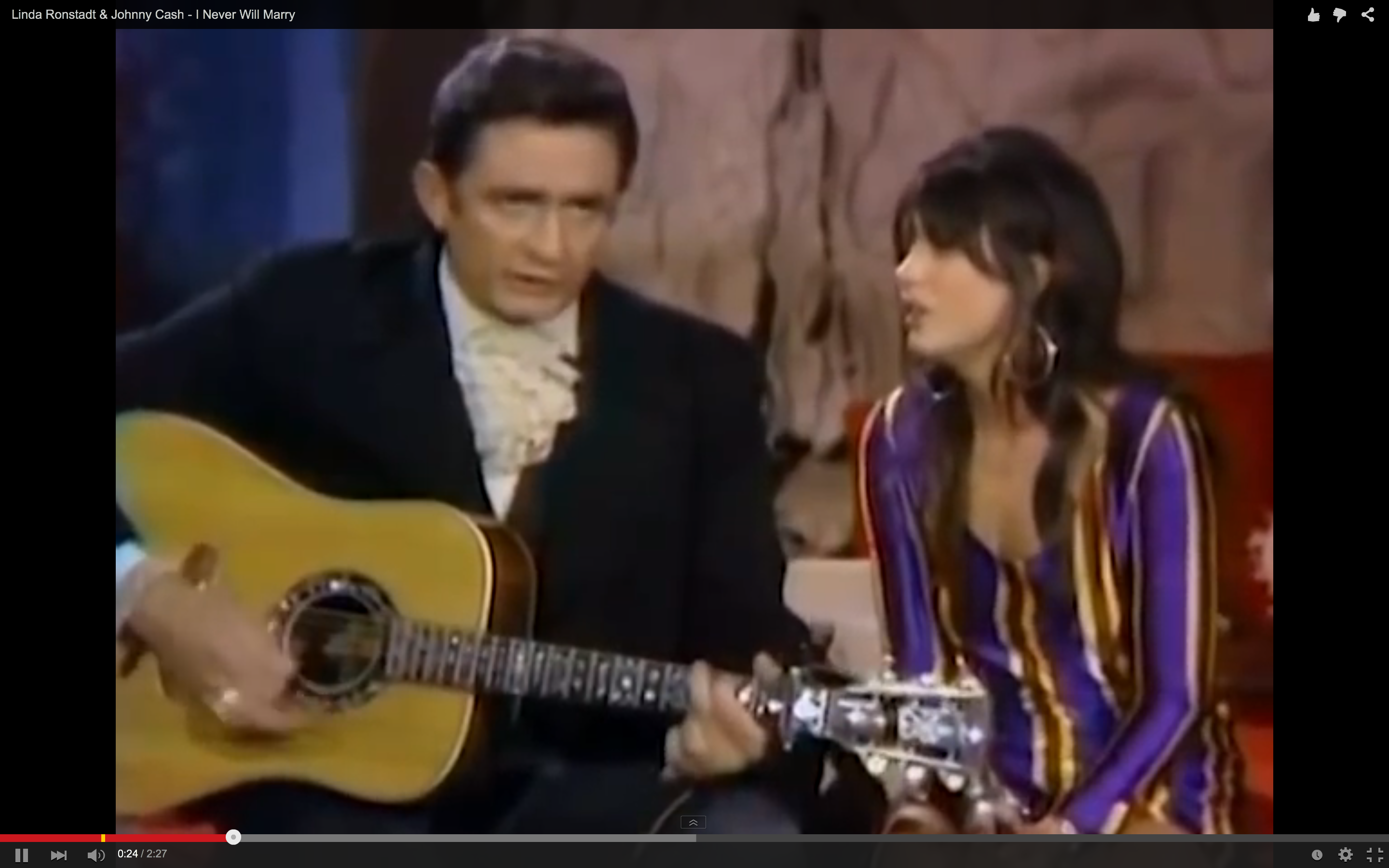 Flashback: See Linda Ronstadt\'s Heartbreaking Duet With Johnny Cash ...