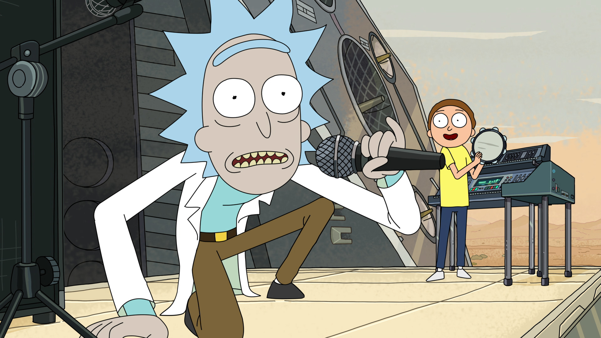 how rick and morty became one of tv s weirdest hit shows rolling