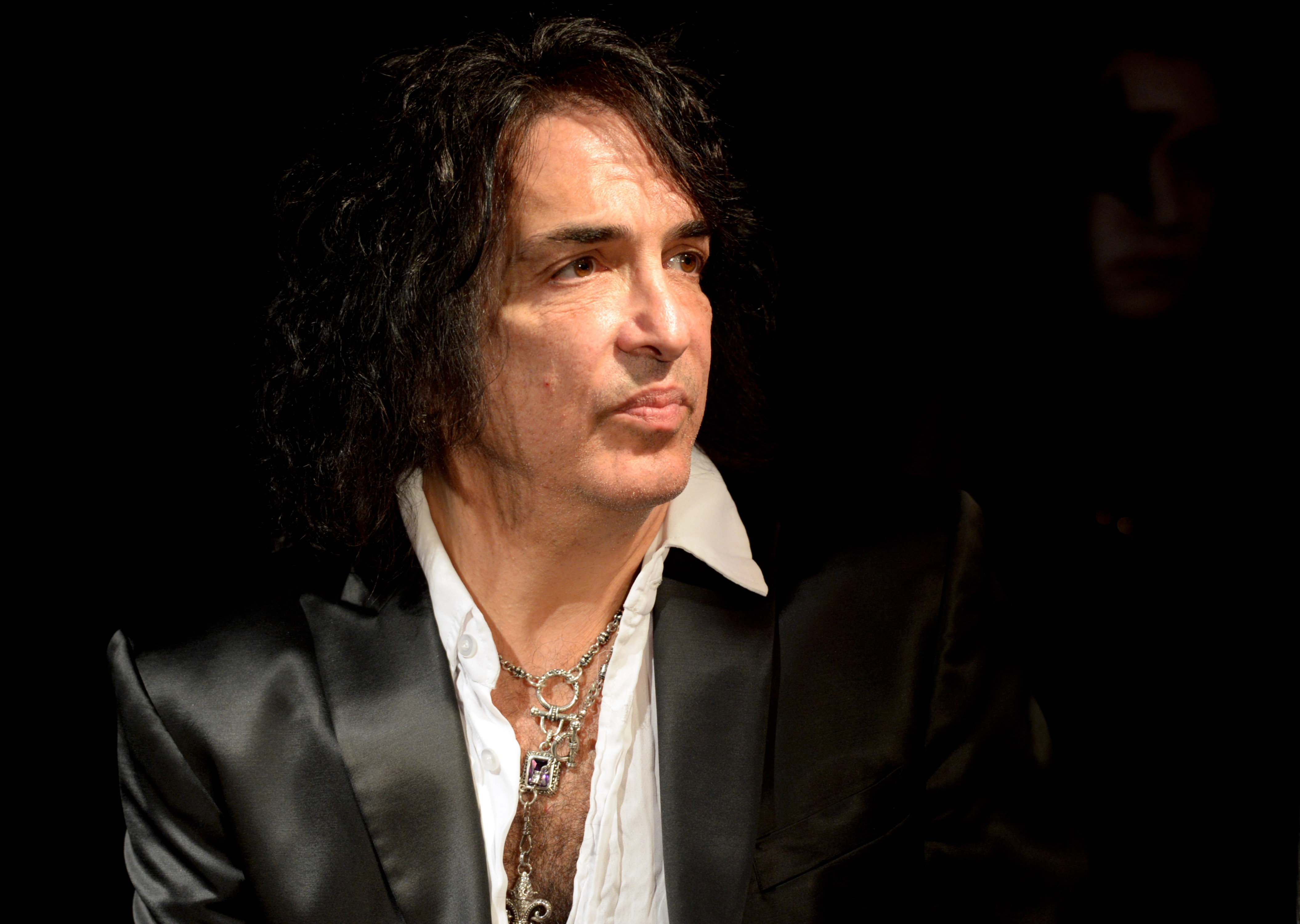 West Hollywood Ca August 21 Musician Paul Stanley Of Kiss Appears At A Press Conference For