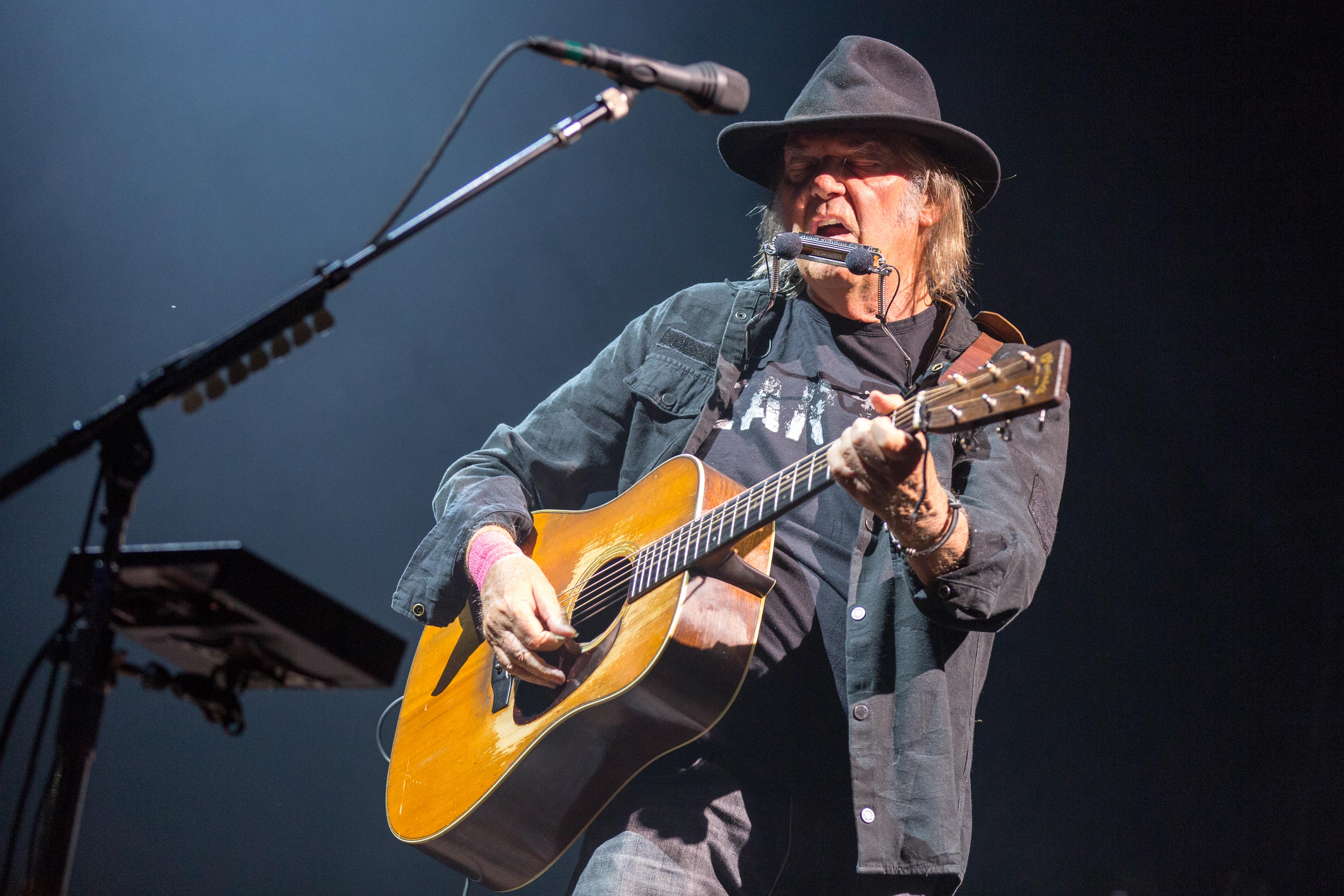 Inside Neil Young's Epic Summer Tour With Promise of the Real