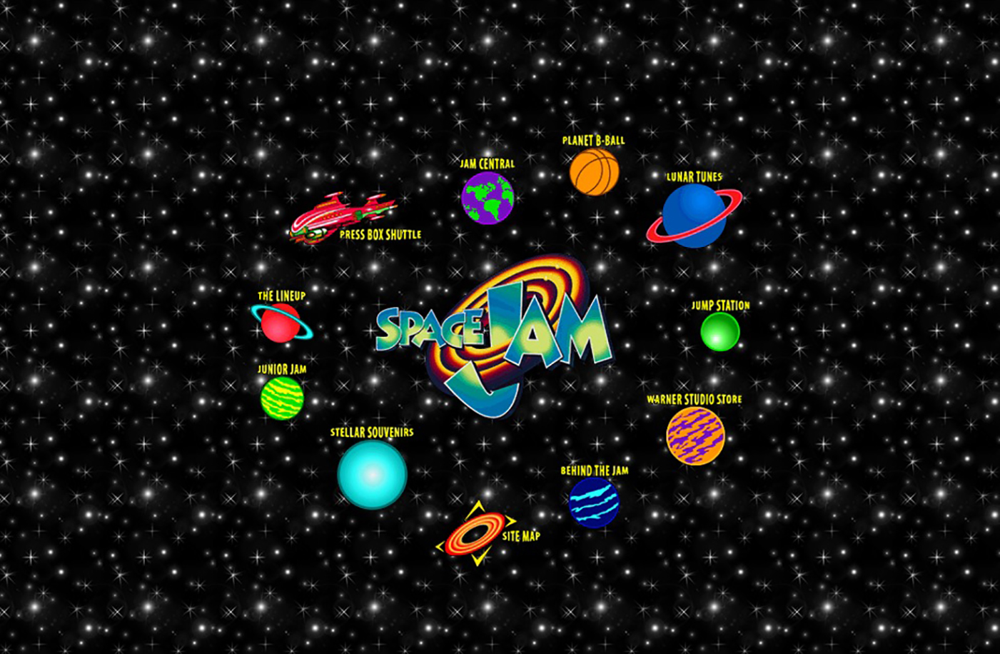 'Space Jam' Forever: The Website That Wouldn't Die