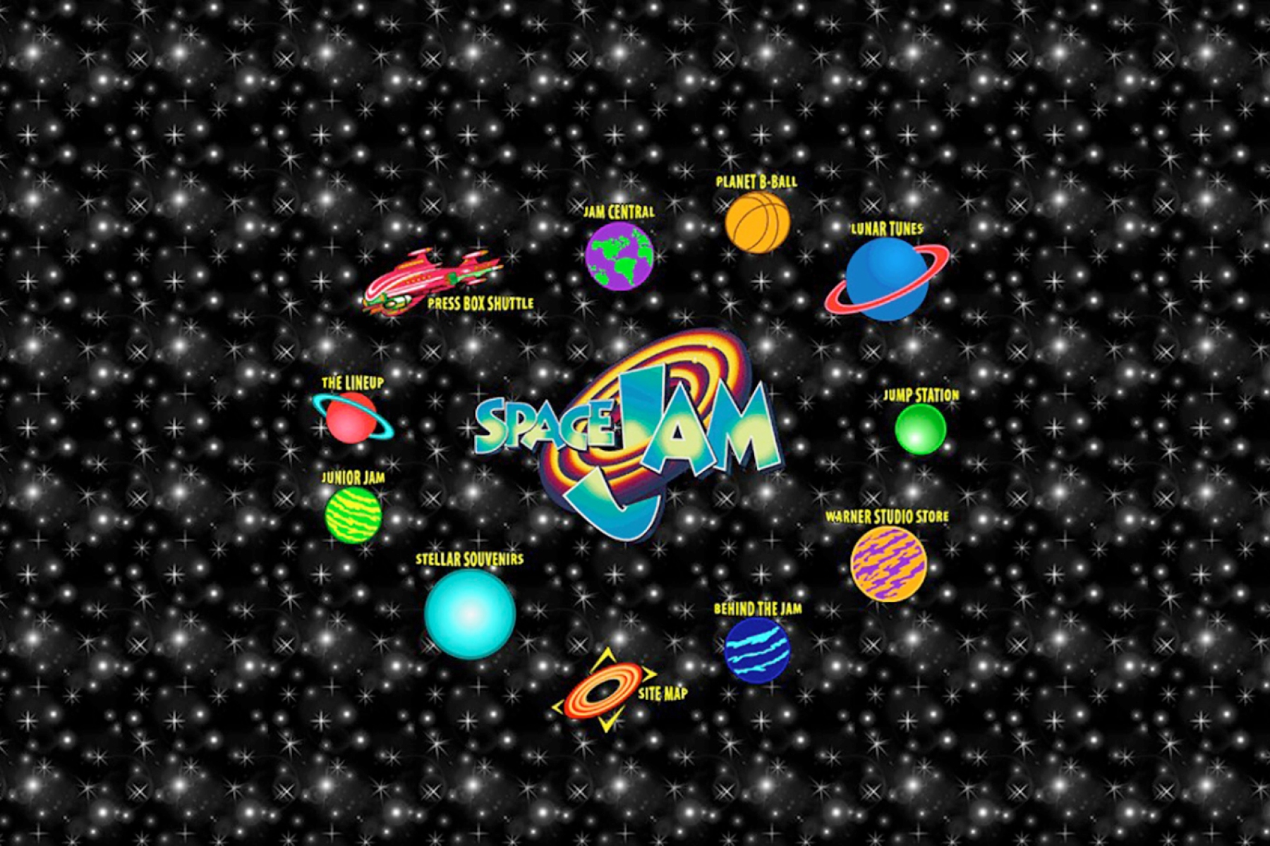 Space Jam Forever The Website That Wouldn T Die Rolling Stone