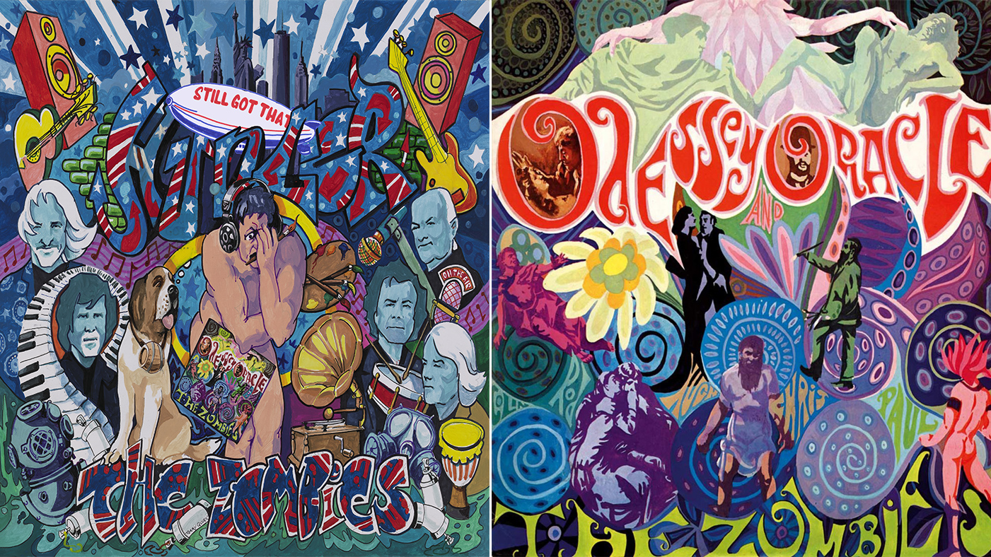 And As One Thing The Zombies Are About Is Going Full Circle It Makes A Certain Kind Of Pleasing Sense That Odessey And Oracle Cover Artist Terry Quirk